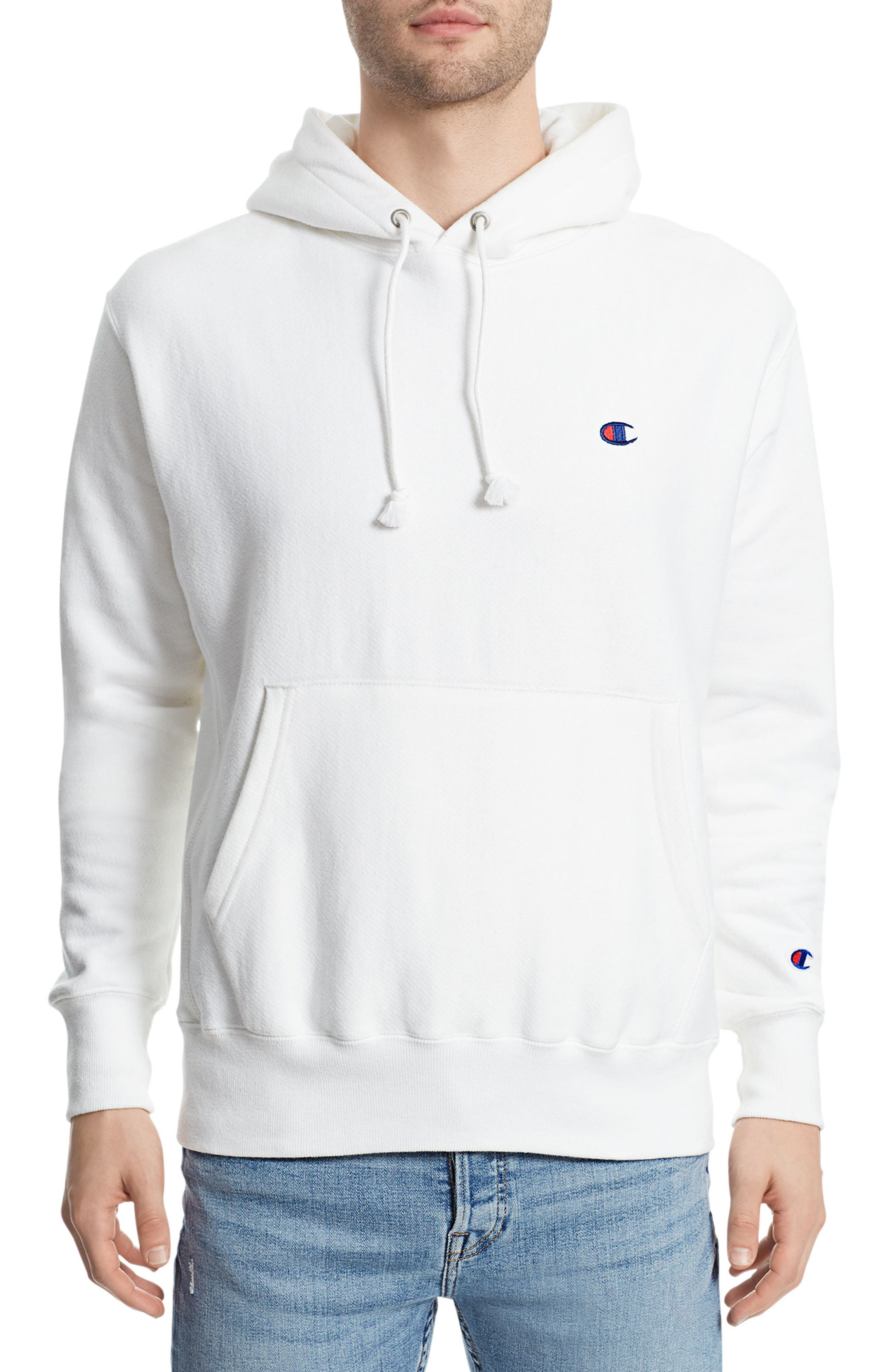 Reverse Weave<sup>®</sup> Pullover Hoodie,                             Main thumbnail 4, color,