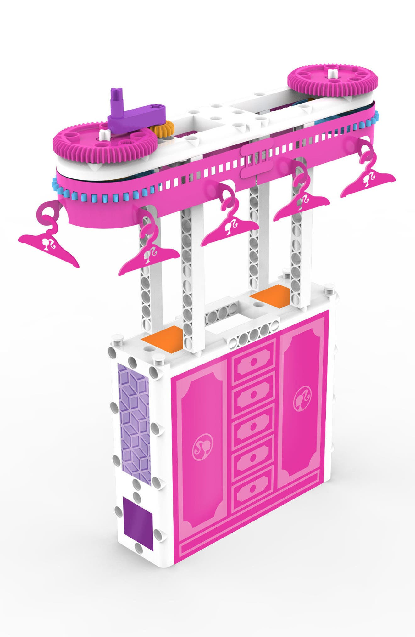 Barbie<sup>®</sup> STEM Kit & Doll Set,                             Alternate thumbnail 3, color,                             PINK