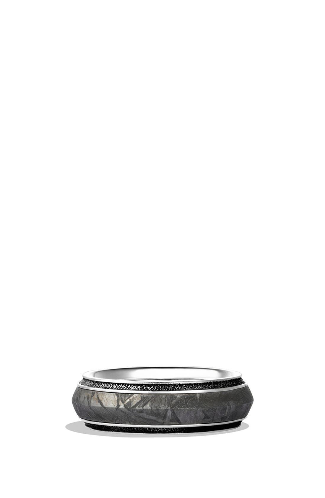 'Meteorite' Knife-Edge Band Ring,                         Main,                         color, METEORITE