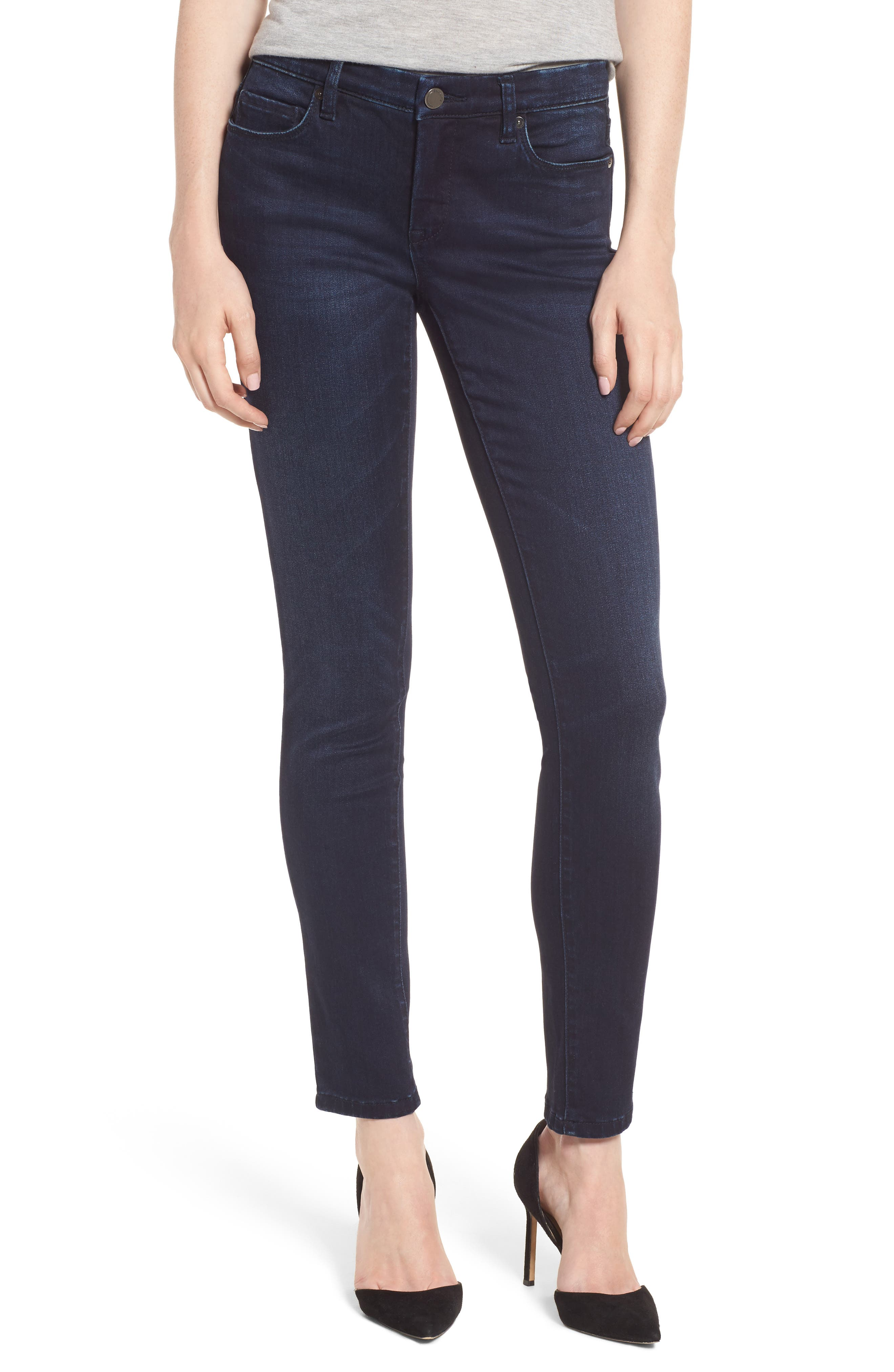 Stretch Skinny Jeans,                         Main,                         color, 401