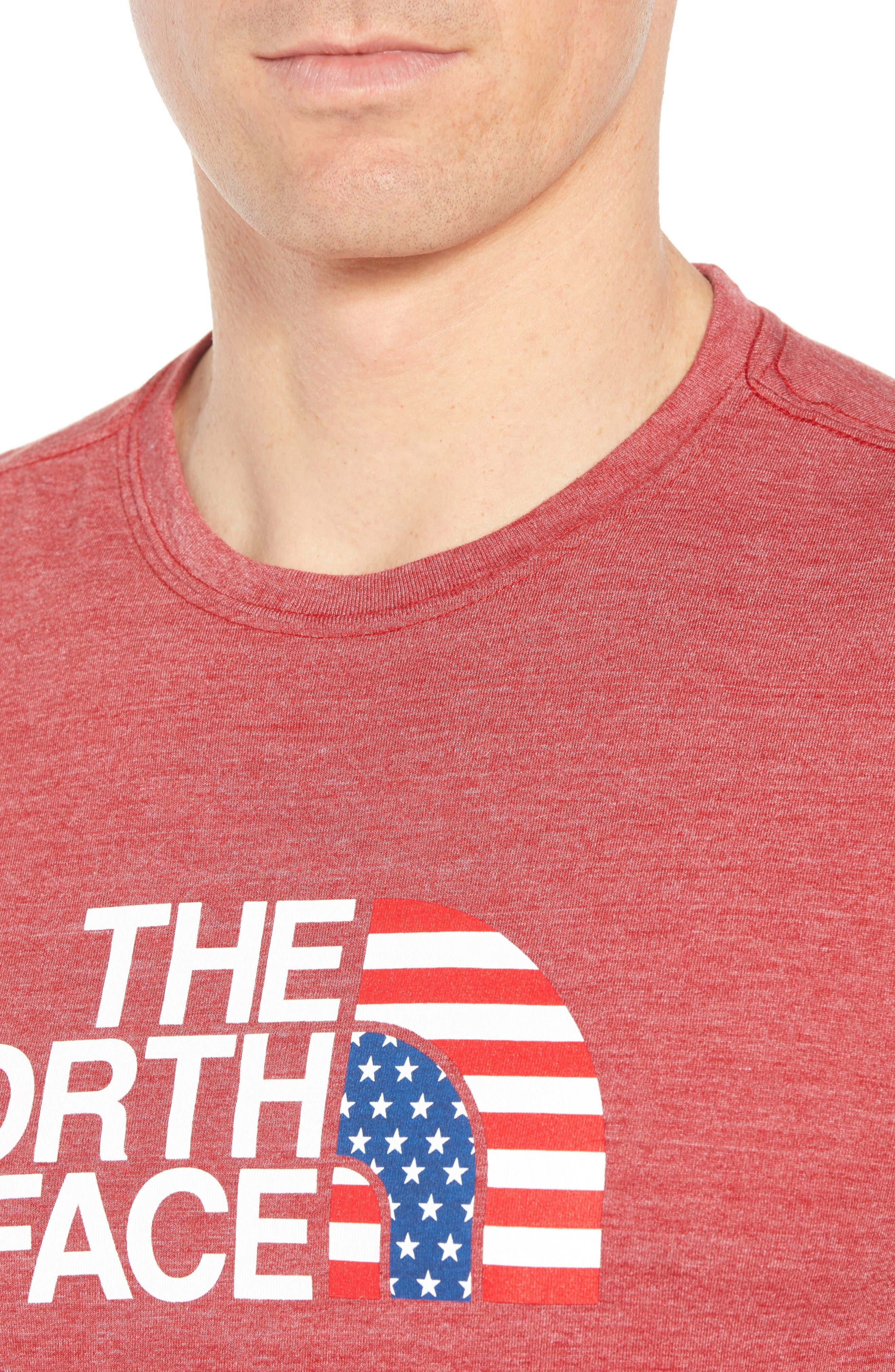 Americana Crewneck T-Shirt,                             Alternate thumbnail 16, color,