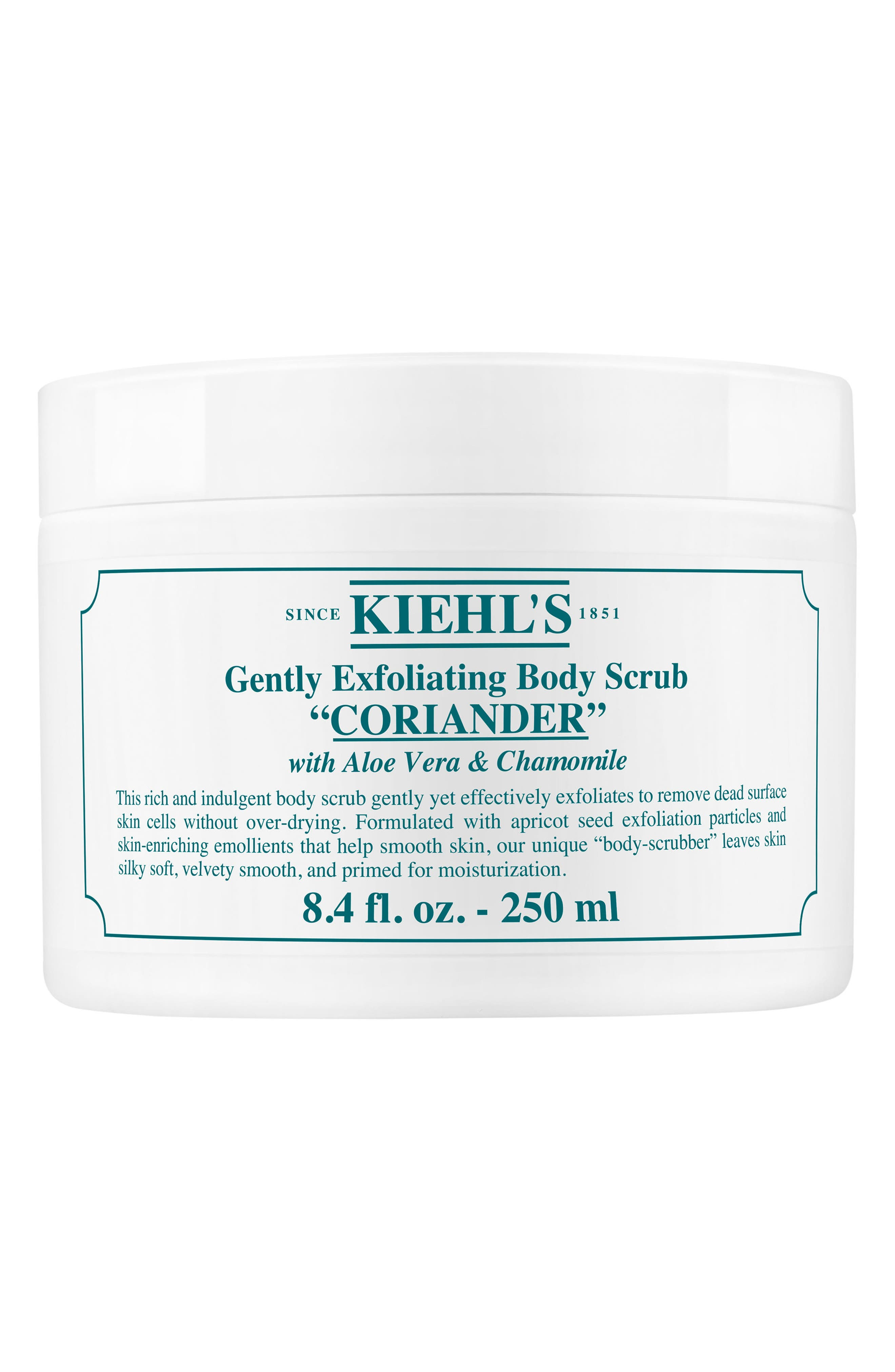Gentle Exfoliating Body Scrub,                             Main thumbnail 1, color,                             CORIANDER