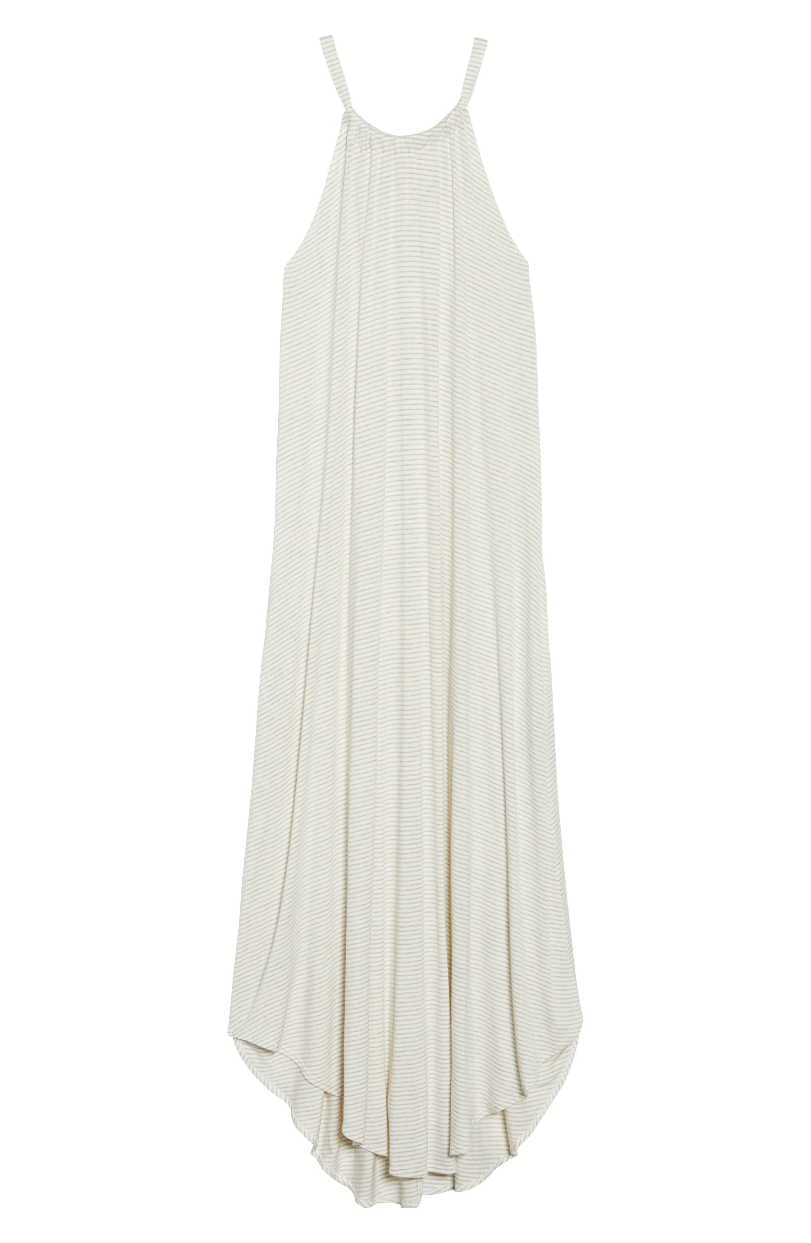 High Neck Cover-Up Dress,                             Alternate thumbnail 12, color,