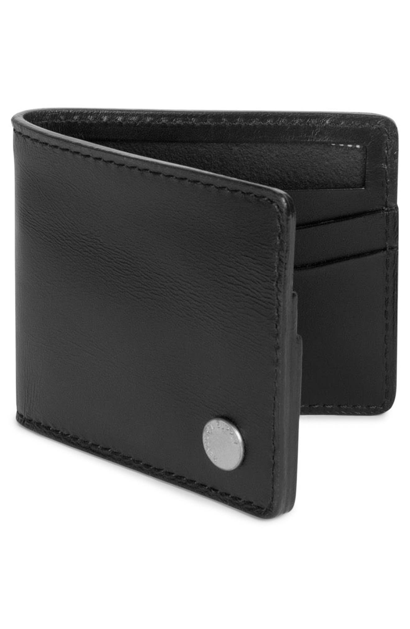 Vincent Saddle Leather Wallet,                             Alternate thumbnail 2, color,                             001