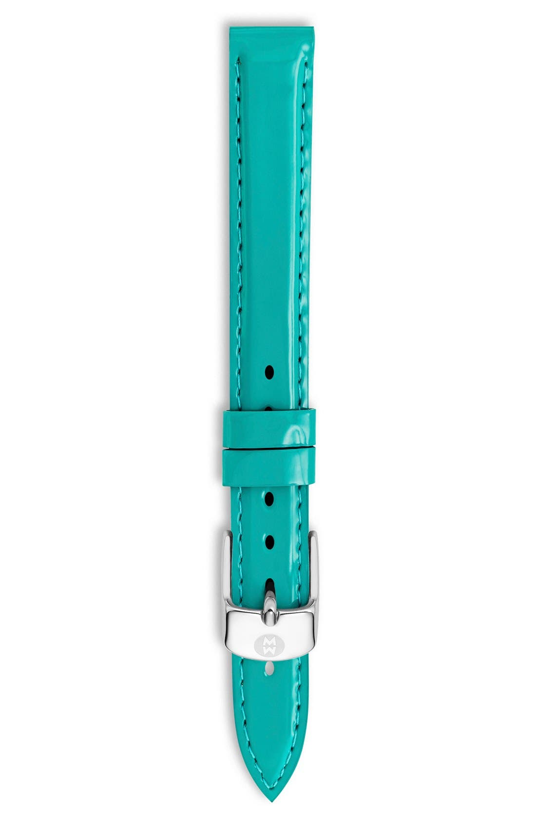 12mm Patent Leather Watch Strap,                             Main thumbnail 5, color,