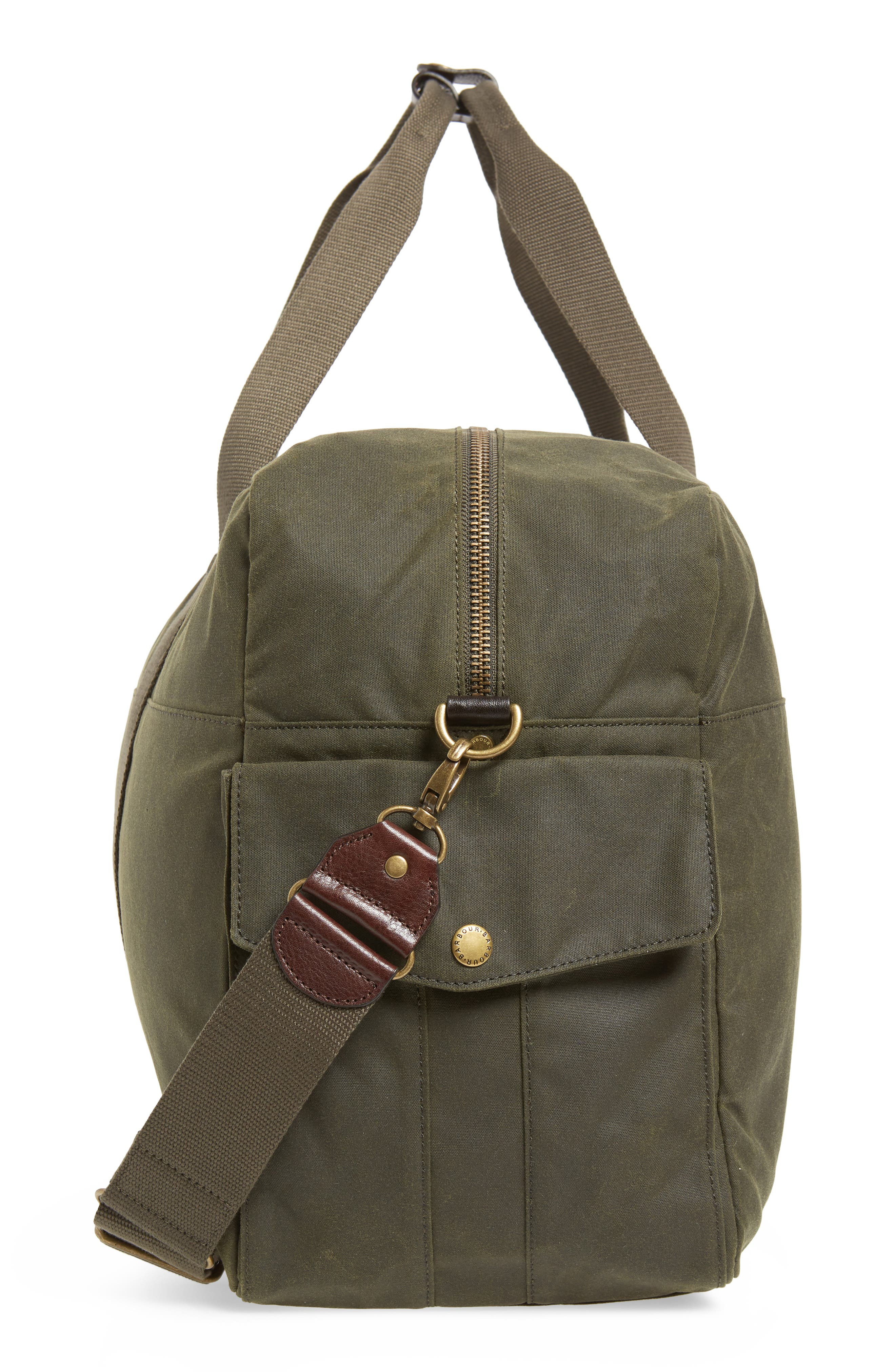Oakwell Duffel Bag,                             Alternate thumbnail 5, color,                             ARCHIVE OLIVE