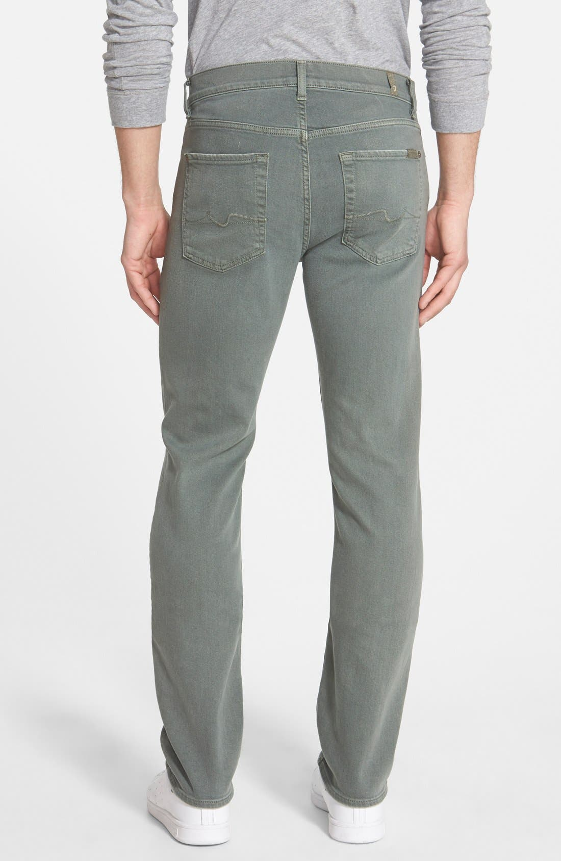 'Slimmy - Luxe Performance' Slim Fit Jeans,                             Alternate thumbnail 29, color,