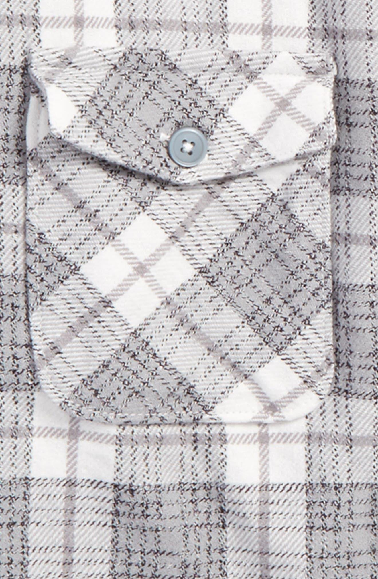 That'll Work Plaid Flannel Shirt,                             Alternate thumbnail 2, color,                             111