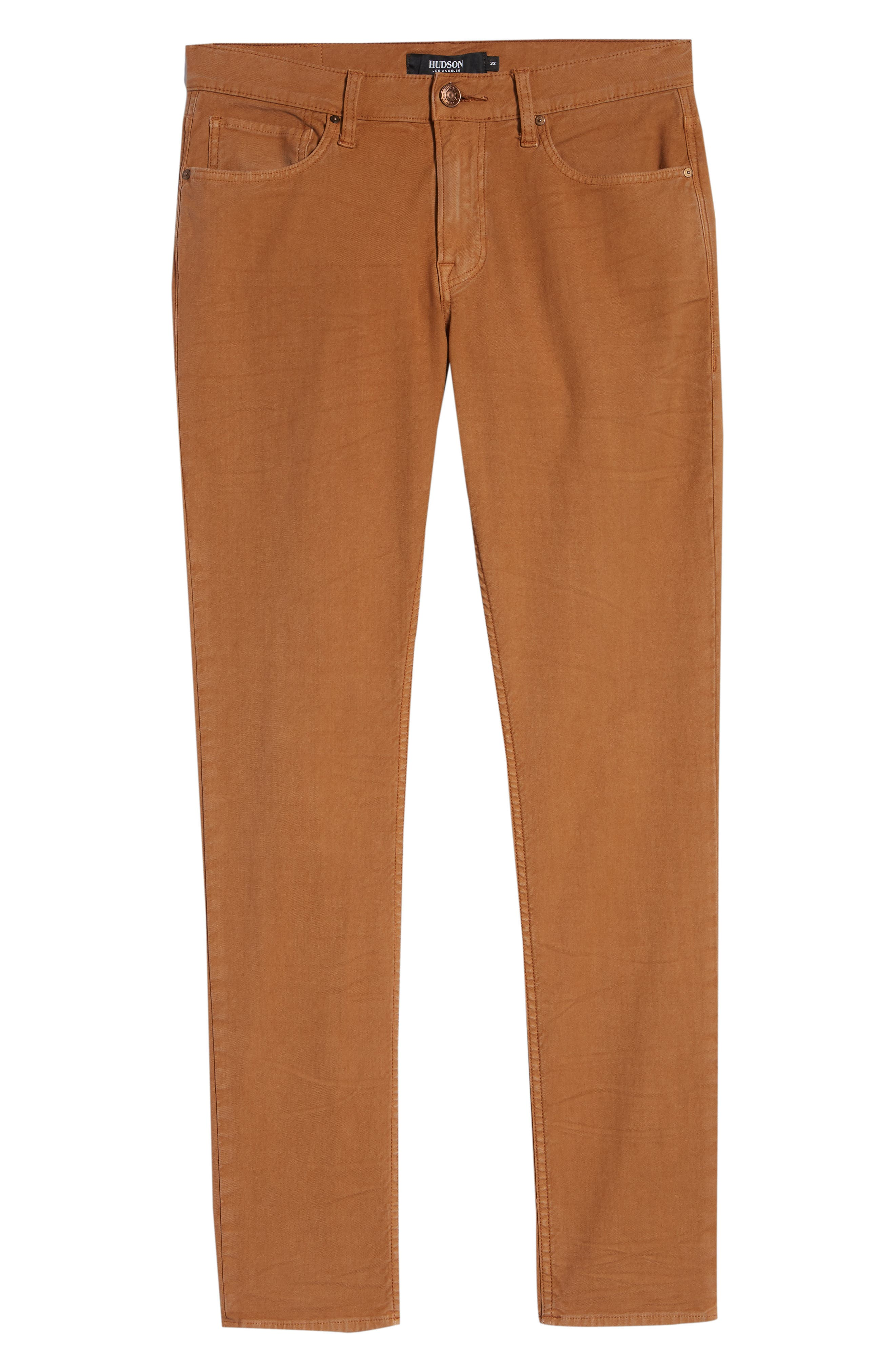 Axl Skinny Fit Jeans,                             Alternate thumbnail 6, color,                             SIENNA