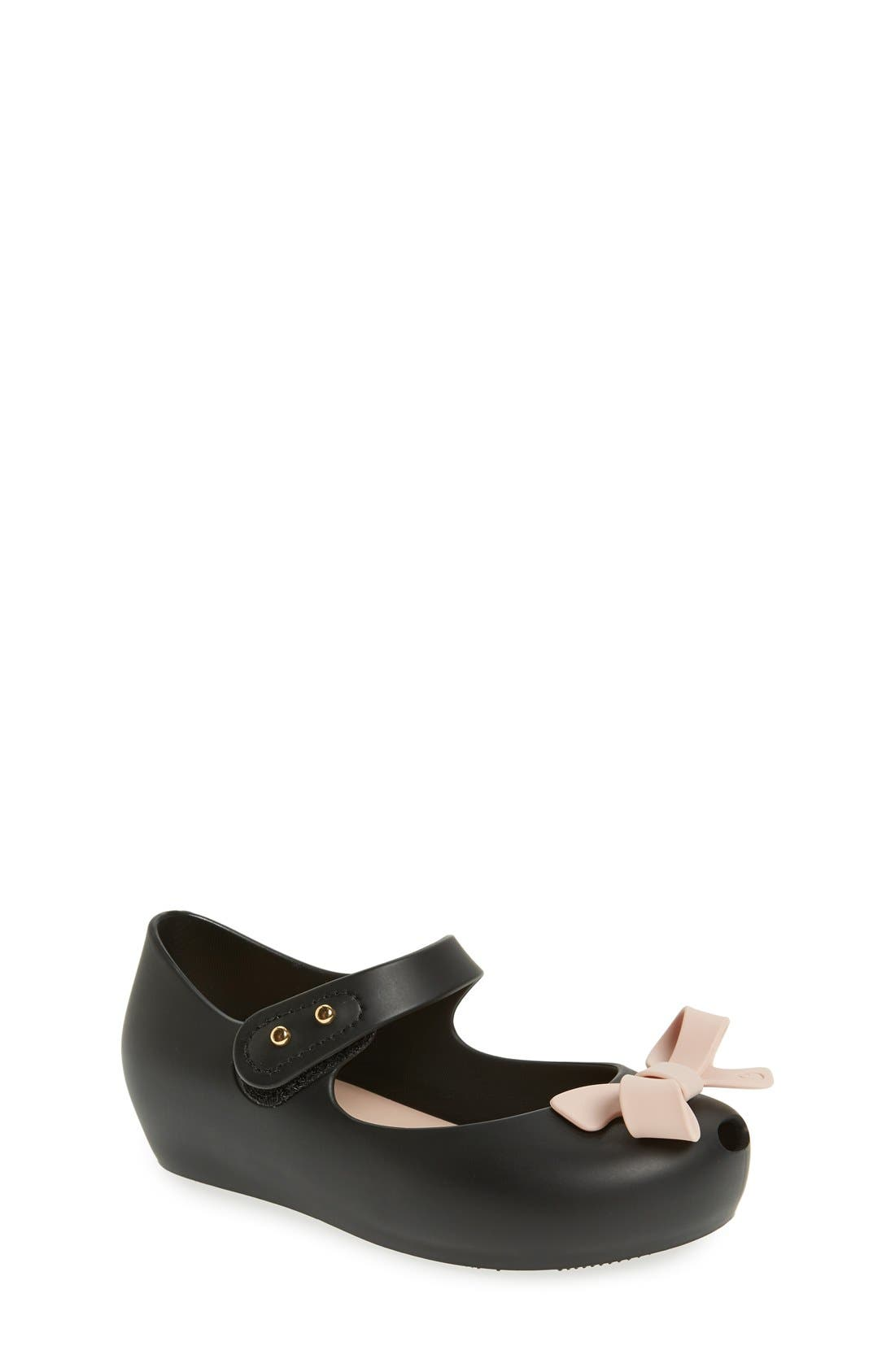 'Ultragirl - Bow' Mary Jane Flat,                         Main,                         color, 005