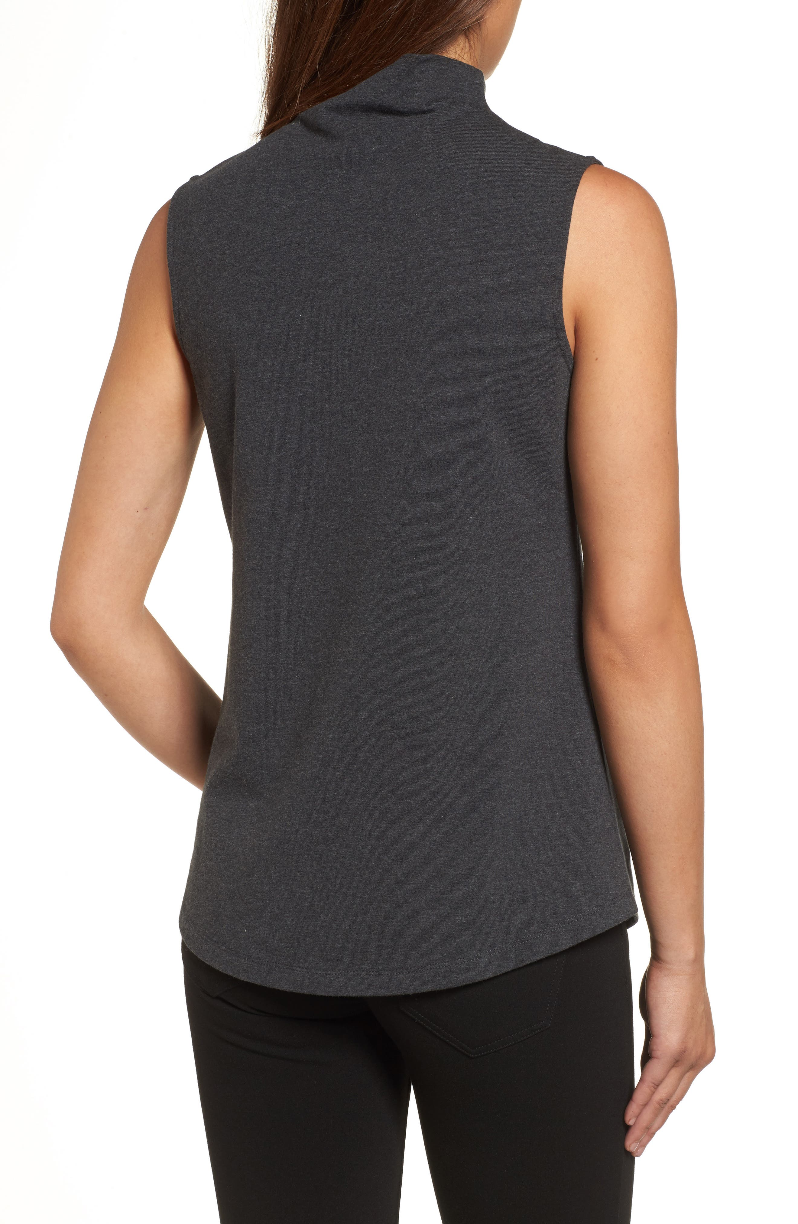 The Perfect Mock Neck Top,                             Alternate thumbnail 9, color,