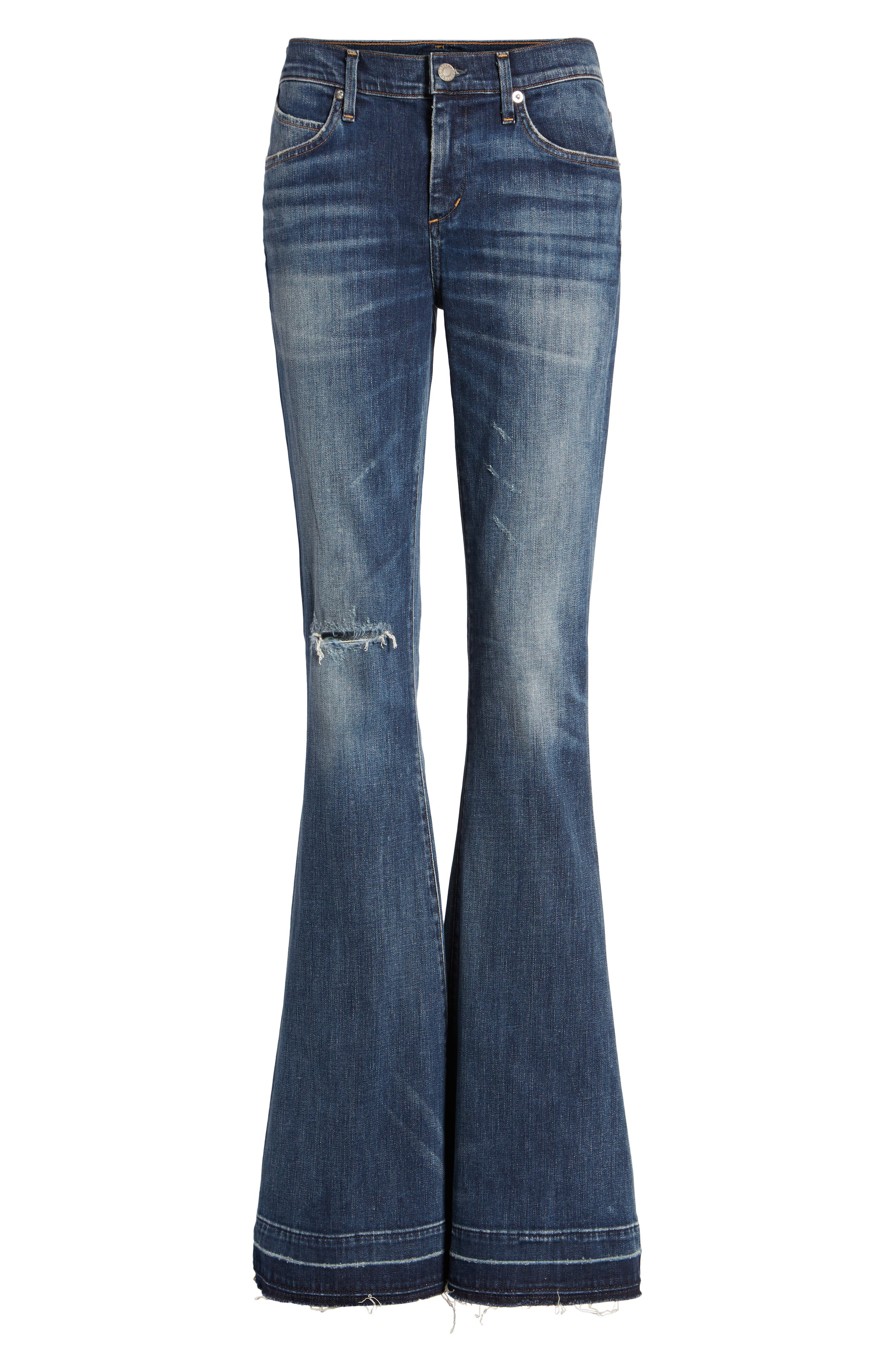 Madison Flare Jeans, Main, color, 404