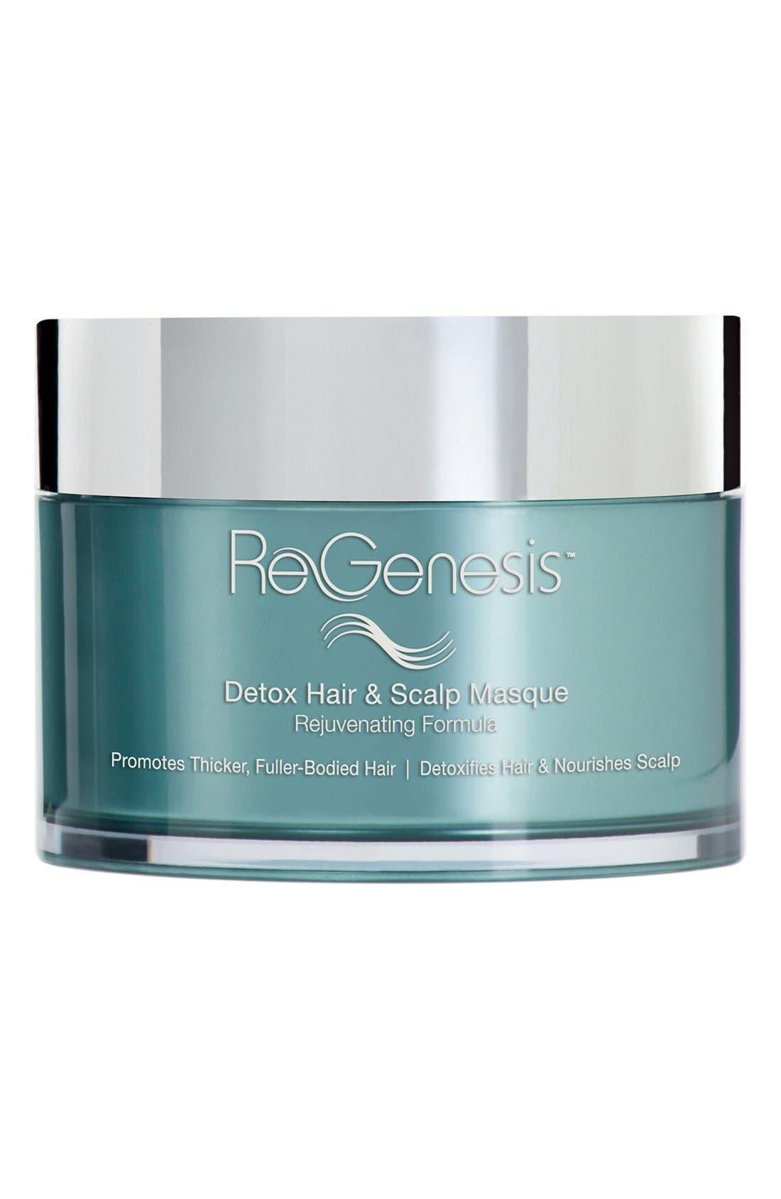 ReGenesis<sup>™</sup> by RevitaLash<sup>®</sup> Detox Hair & Scalp Masque Rejuvenating Formula,                         Main,                         color, 000