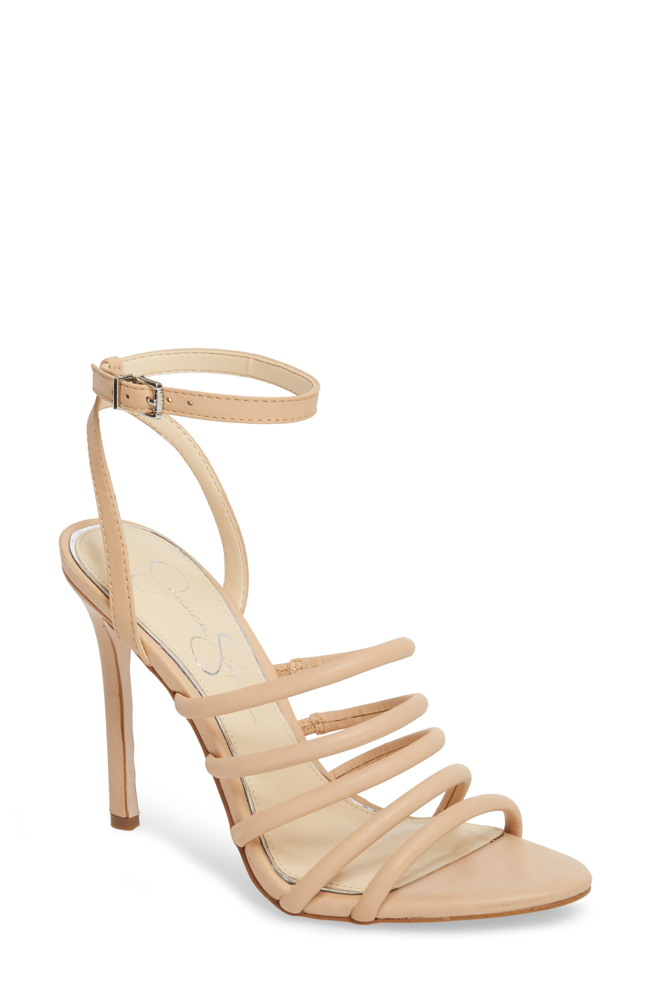 Joselle Strappy Sandal,                             Main thumbnail 3, color,