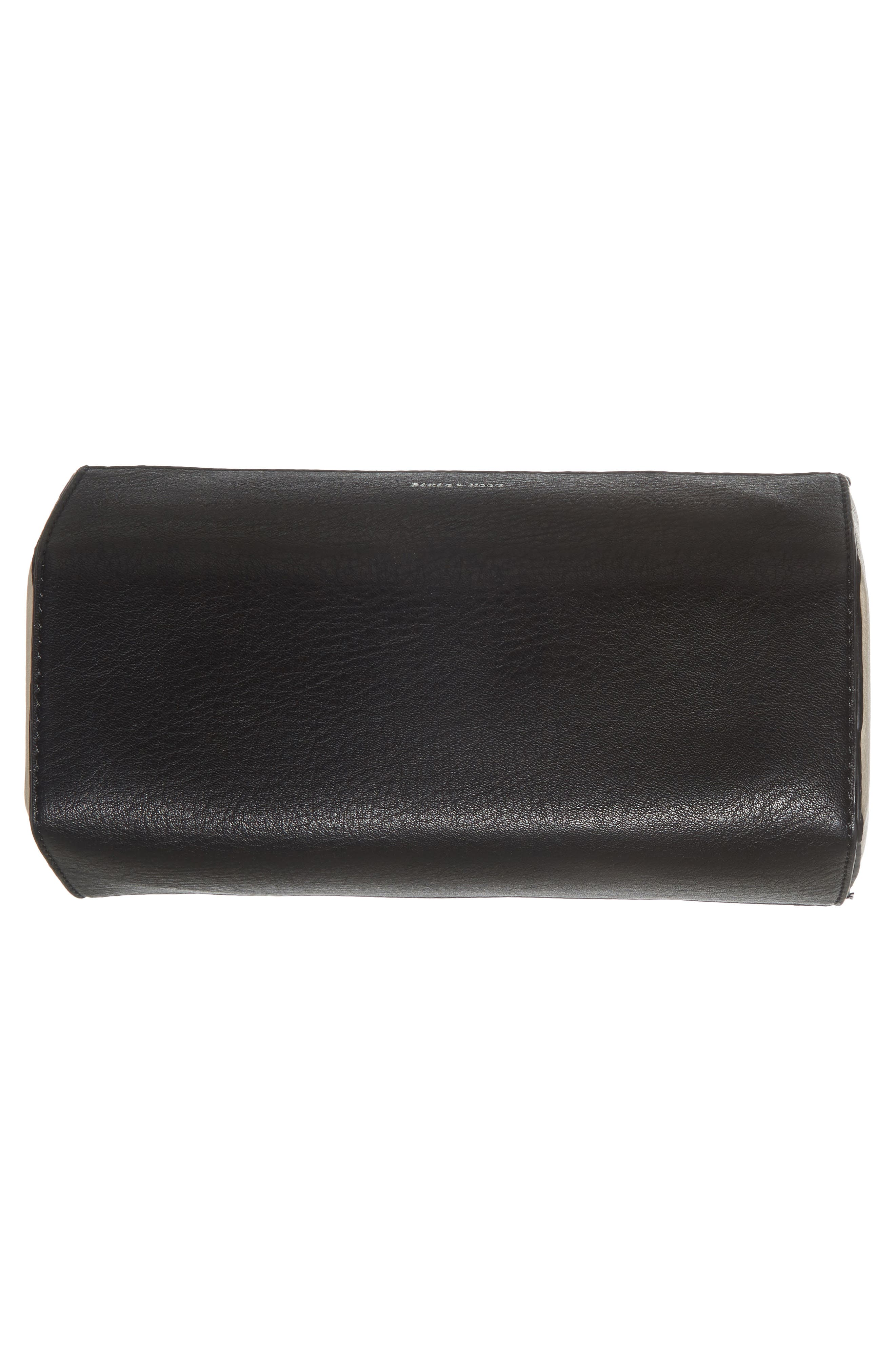Faux Leather Crossbody Bag,                             Alternate thumbnail 6, color,                             001
