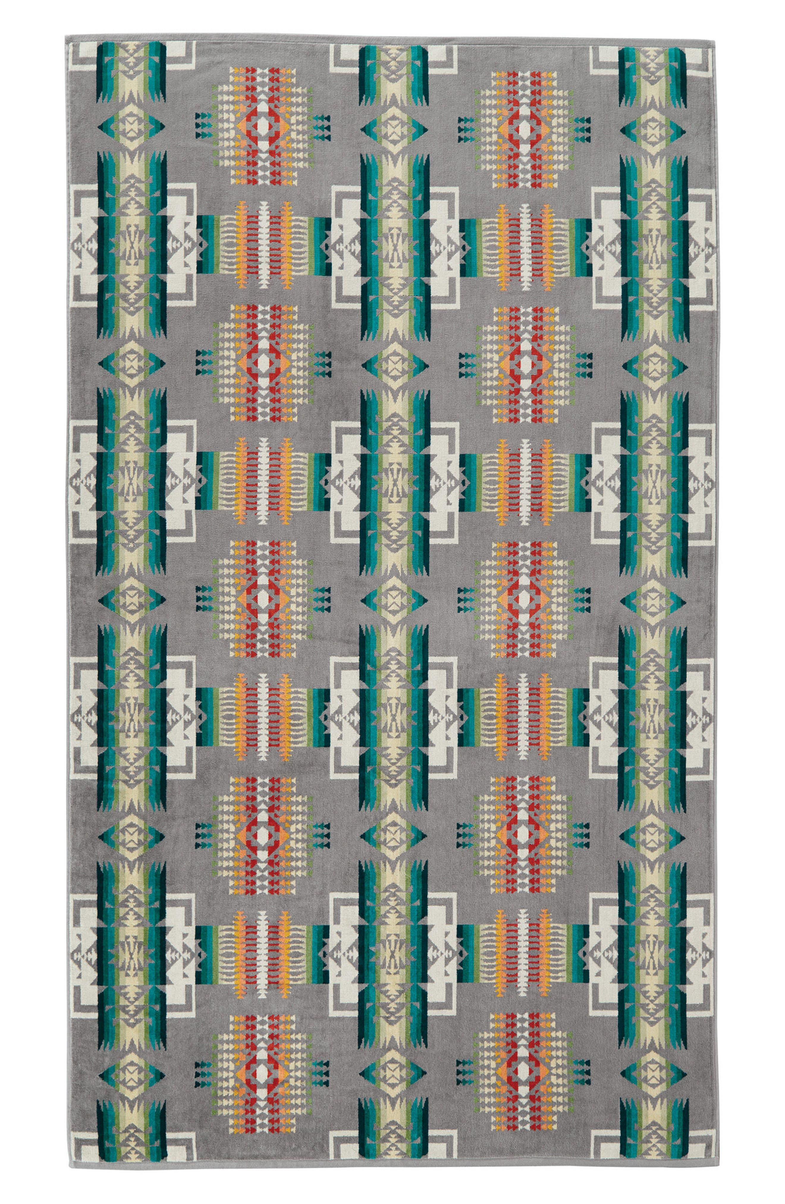 PENDLETON Chief Joe Jacquard Towel, Main, color, 020