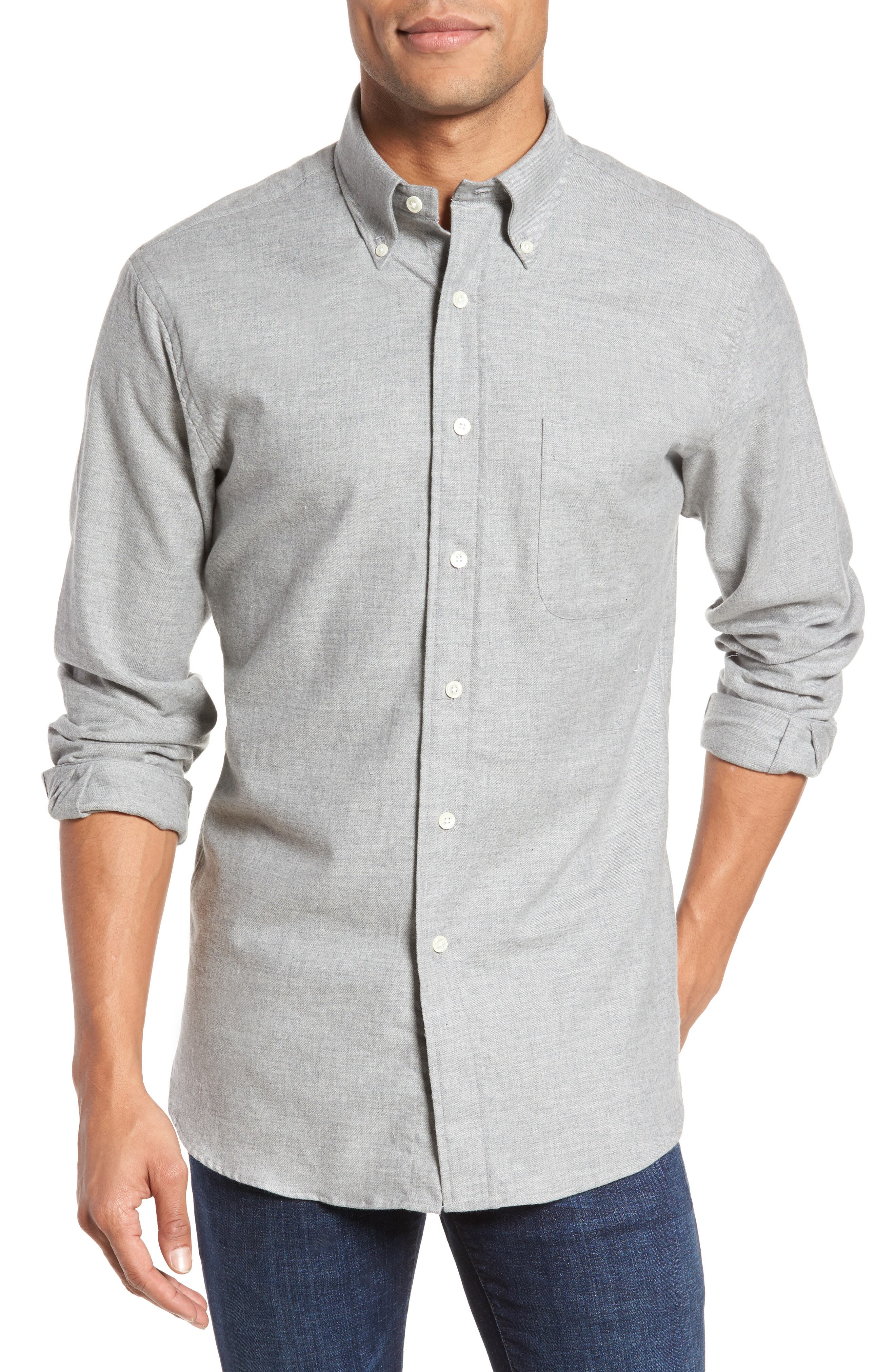 Slim Fit Sport Shirt,                             Main thumbnail 1, color,