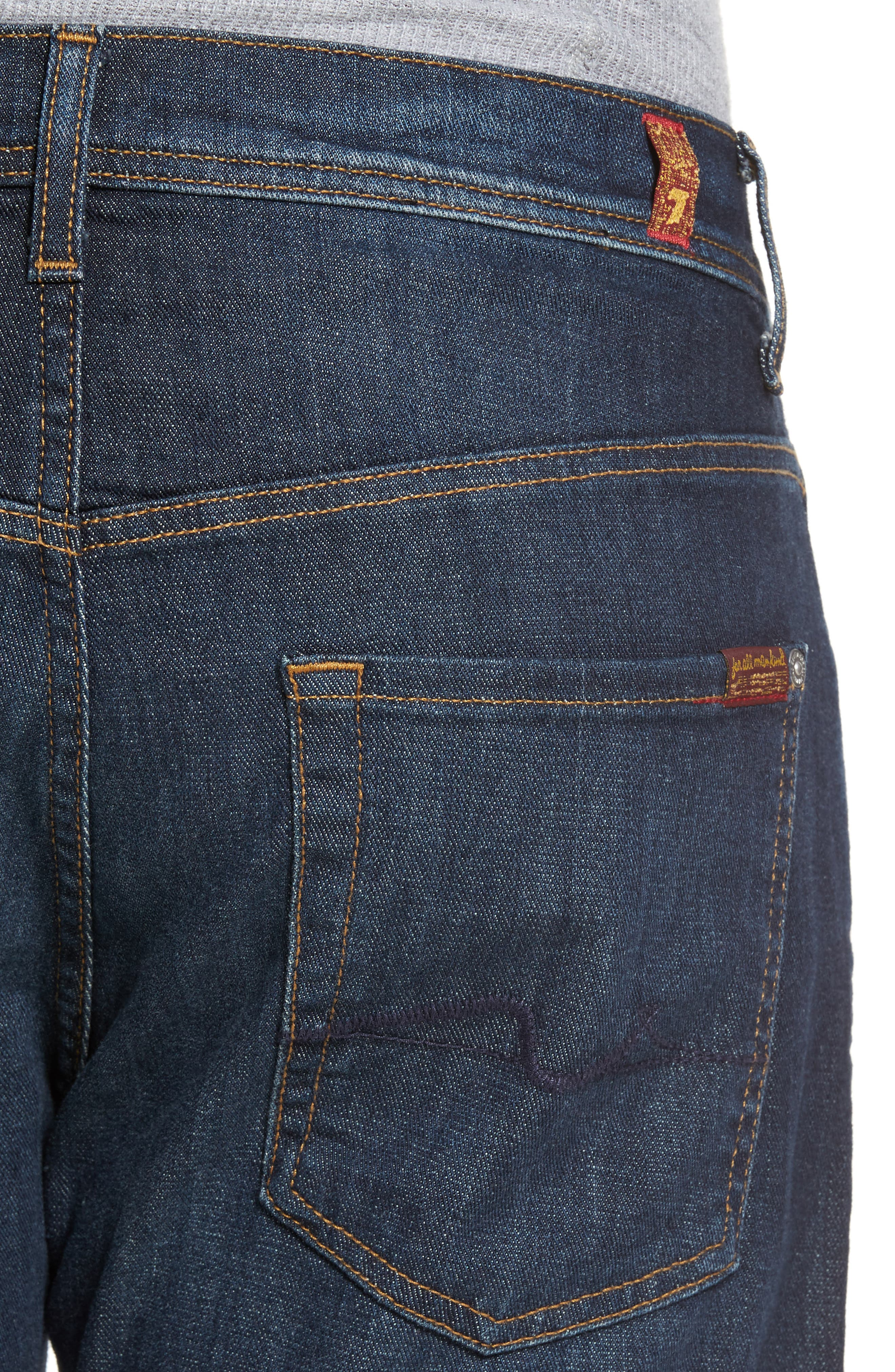 Brett Bootcut Jeans,                             Alternate thumbnail 4, color,                             402