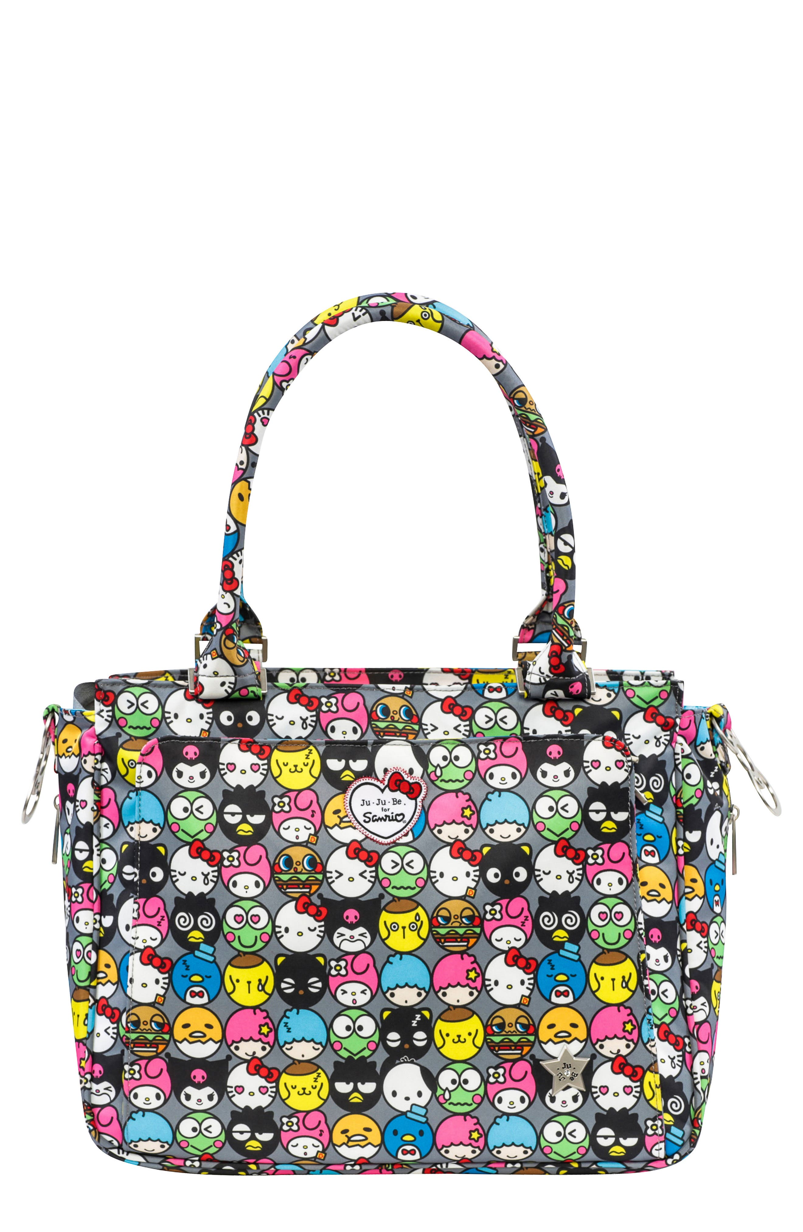 x Hello Kitty<sup>®</sup> Be Classy Diaper Bag,                         Main,                         color, 026