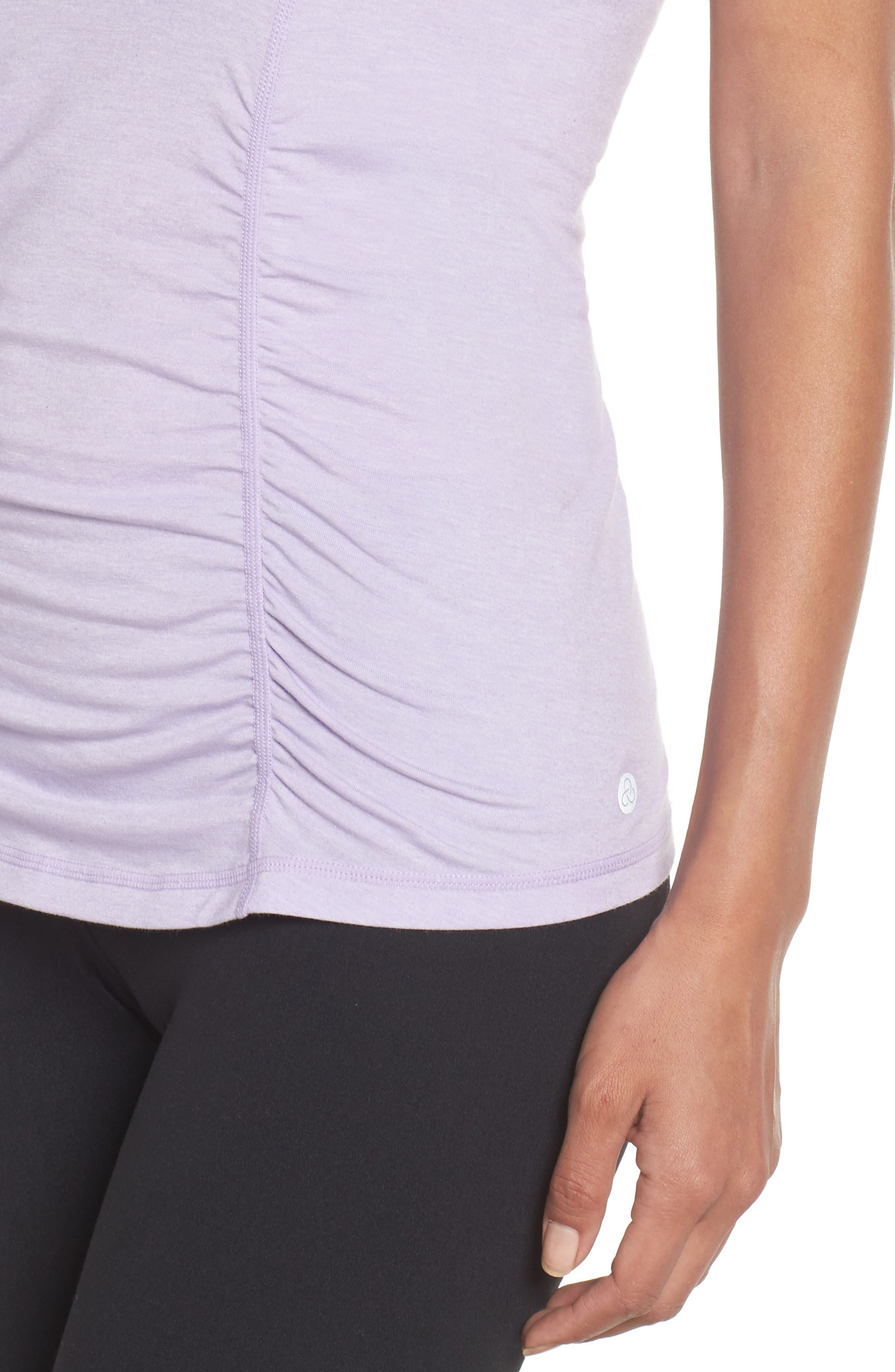 'Z 6' Ruched Tee,                             Alternate thumbnail 59, color,