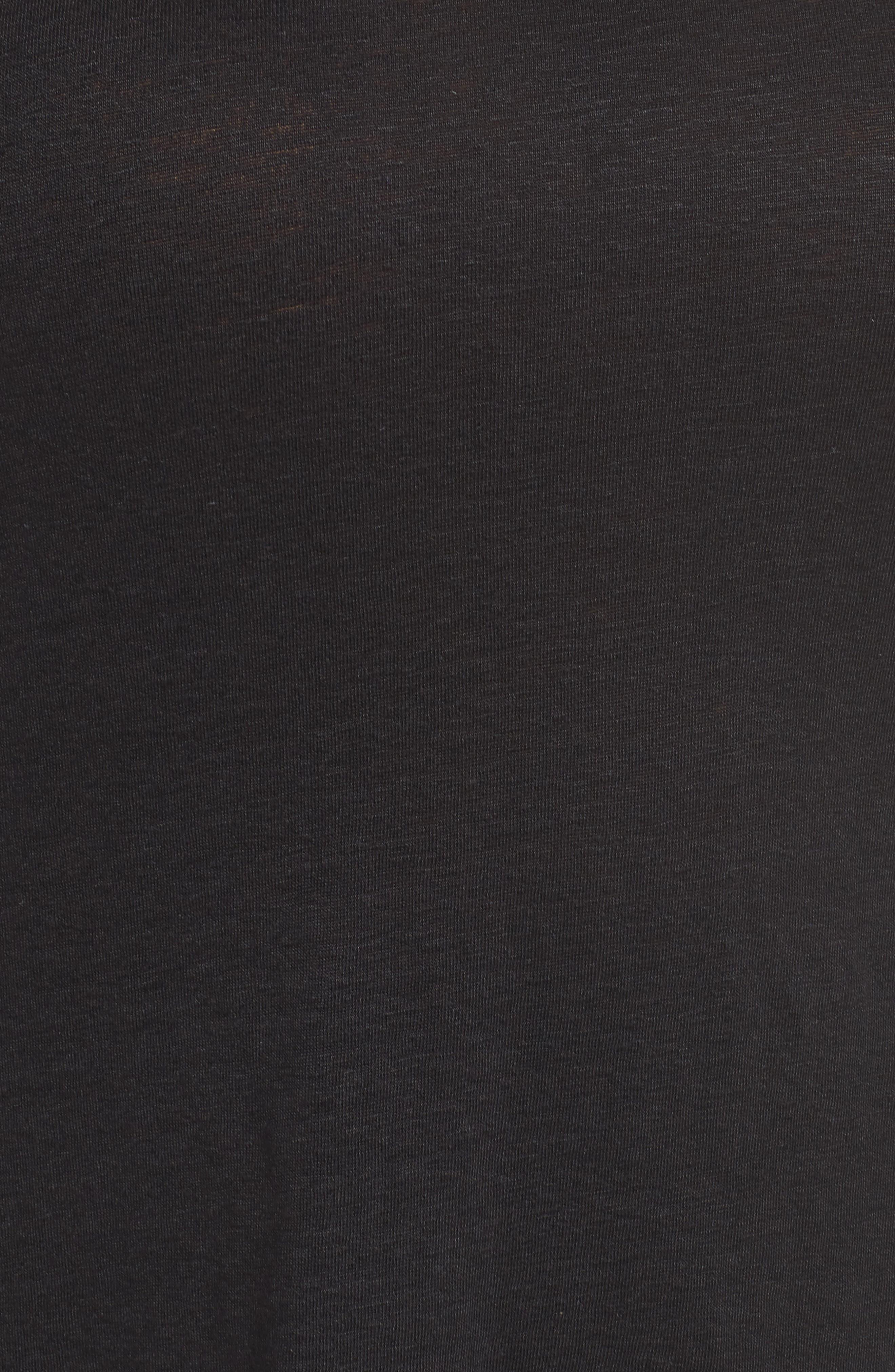 Organic Linen Tank,                             Alternate thumbnail 6, color,                             001