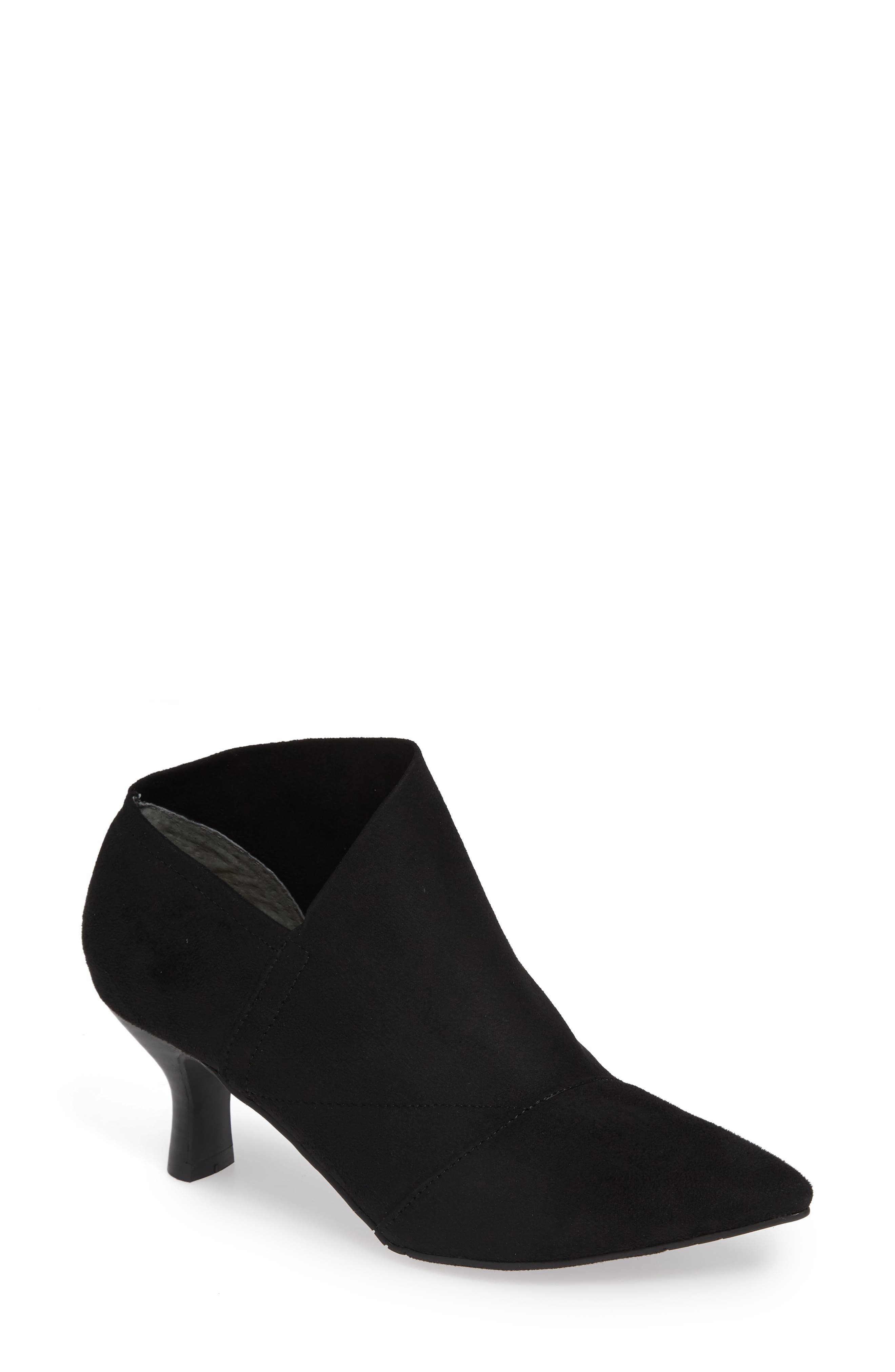 Adrianna Papell Hayes Pointy Toe Bootie- Black
