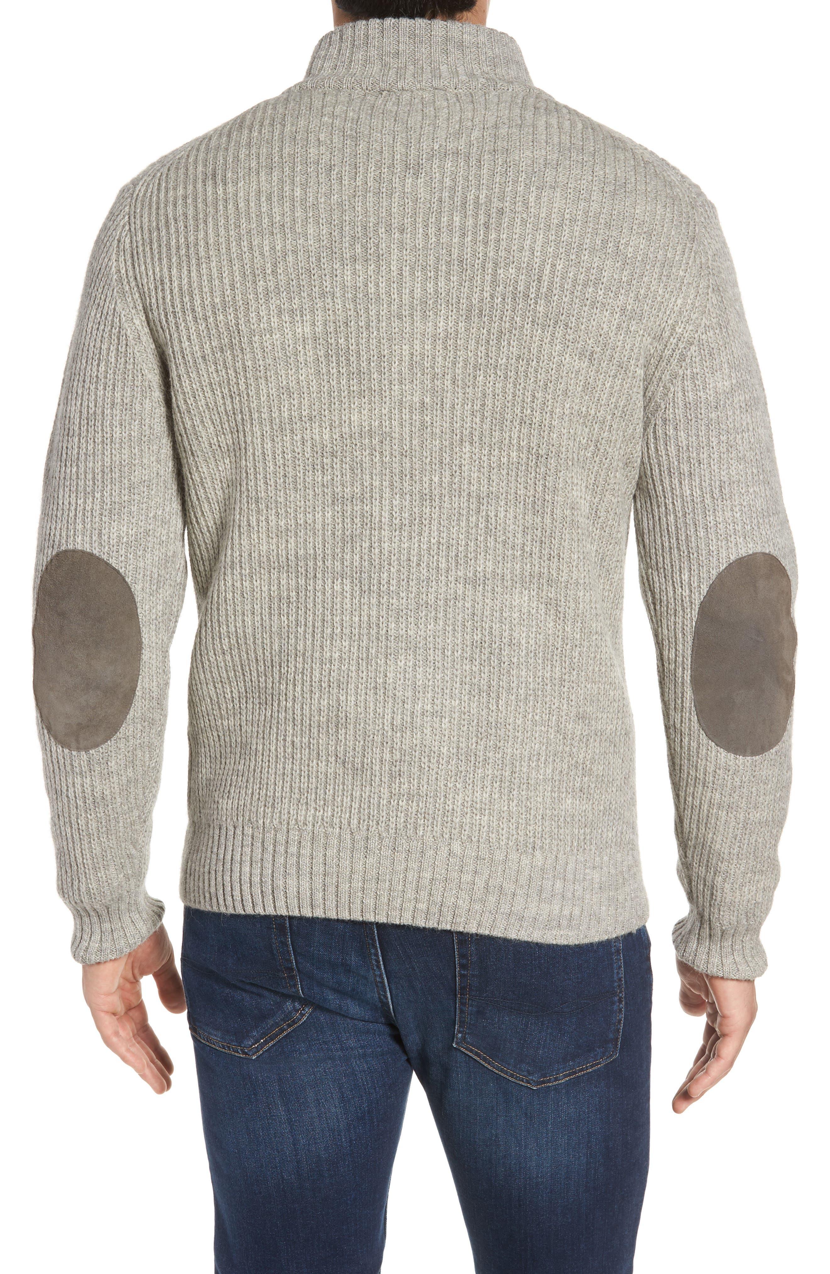 'Huka Lodge' Merino Wool Blend Quarter Zip Sweater,                             Alternate thumbnail 2, color,                             268