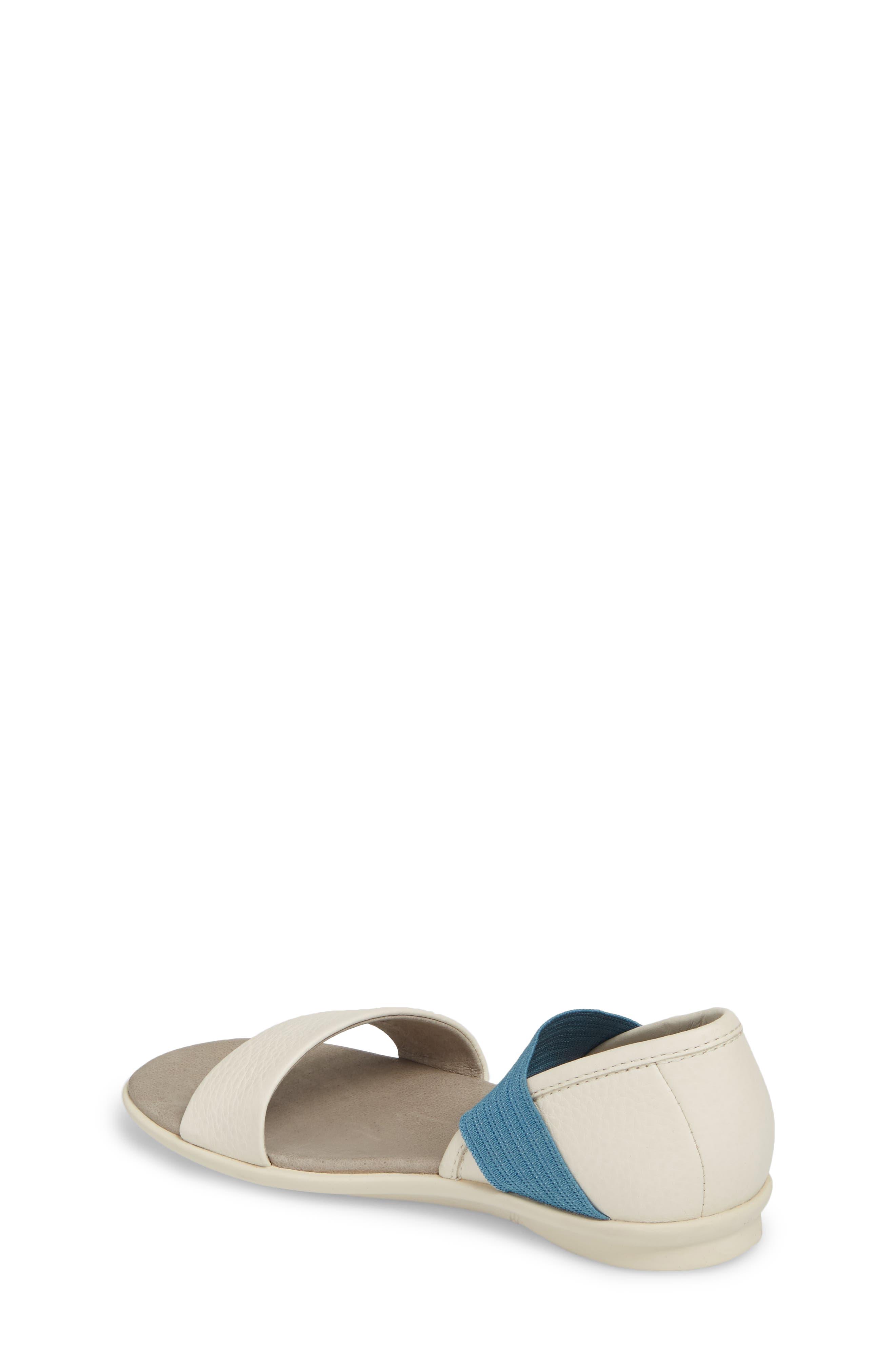 Right Sandal,                             Alternate thumbnail 2, color,                             WHITE