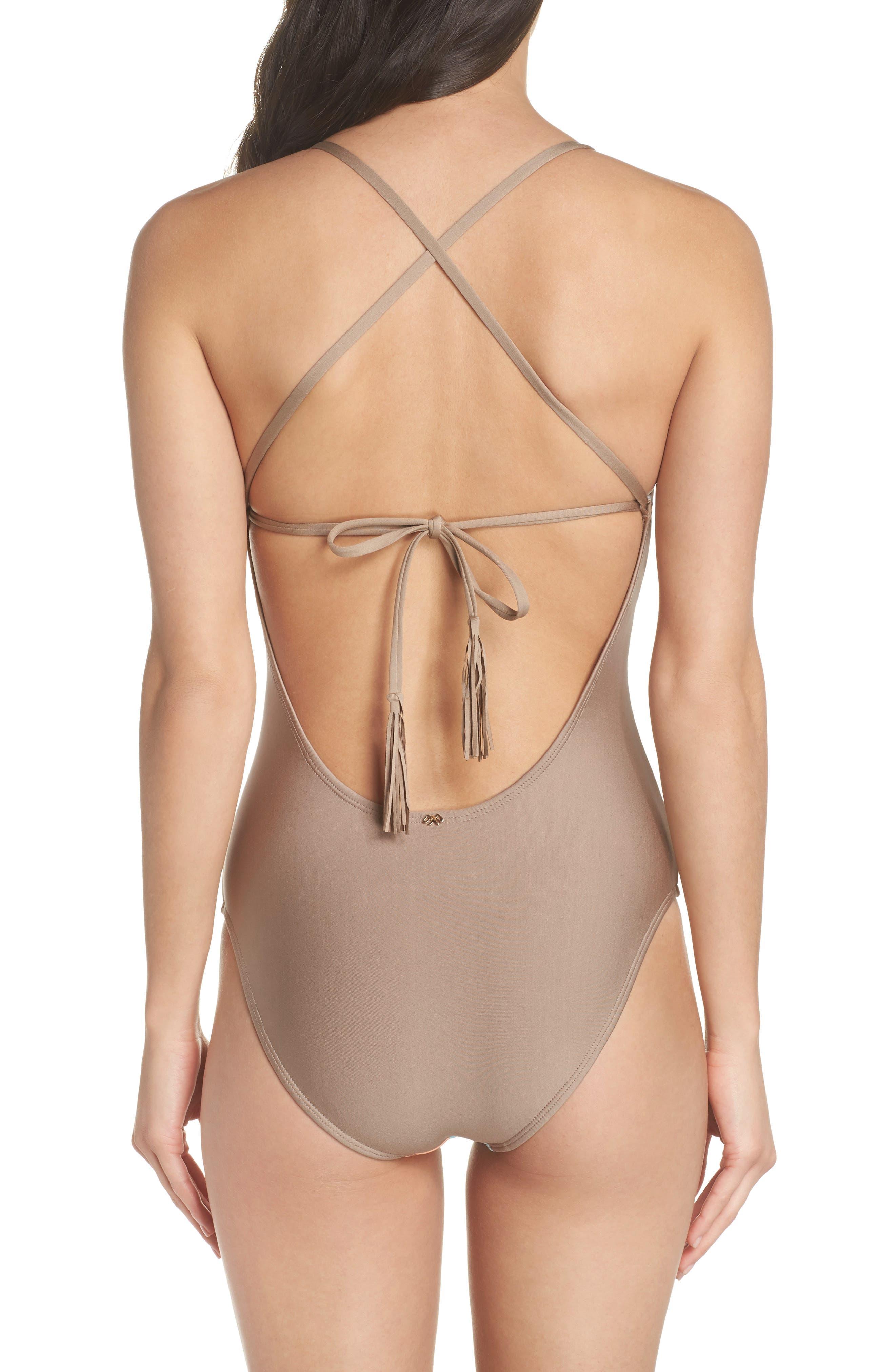 Farrah Stripe One-Piece Swimsuit,                             Alternate thumbnail 2, color,                             430