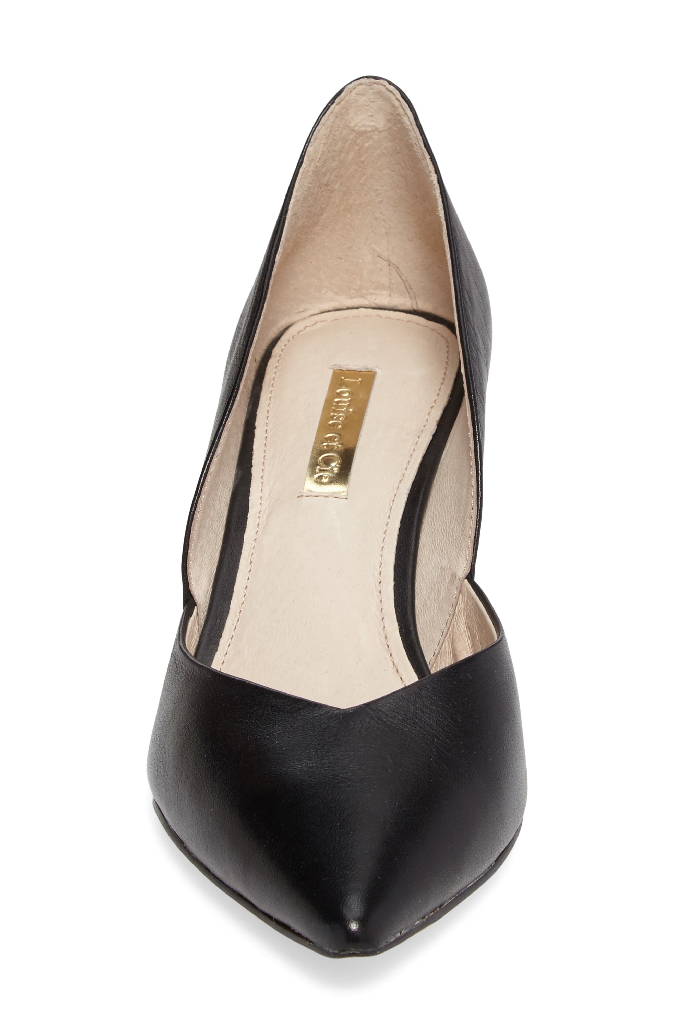 Jacee Pointy Toe Pump,                             Alternate thumbnail 4, color,                             002