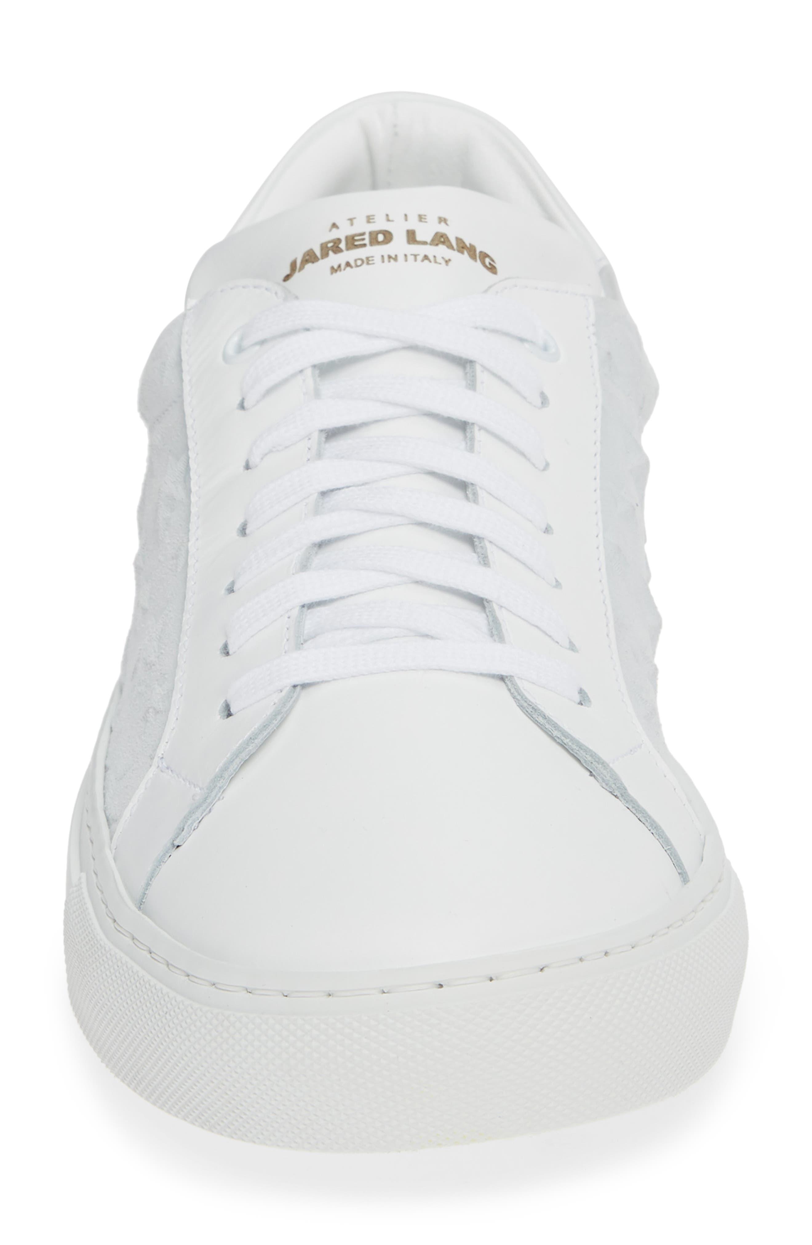 Rome Sneaker,                             Alternate thumbnail 4, color,                             WHITE