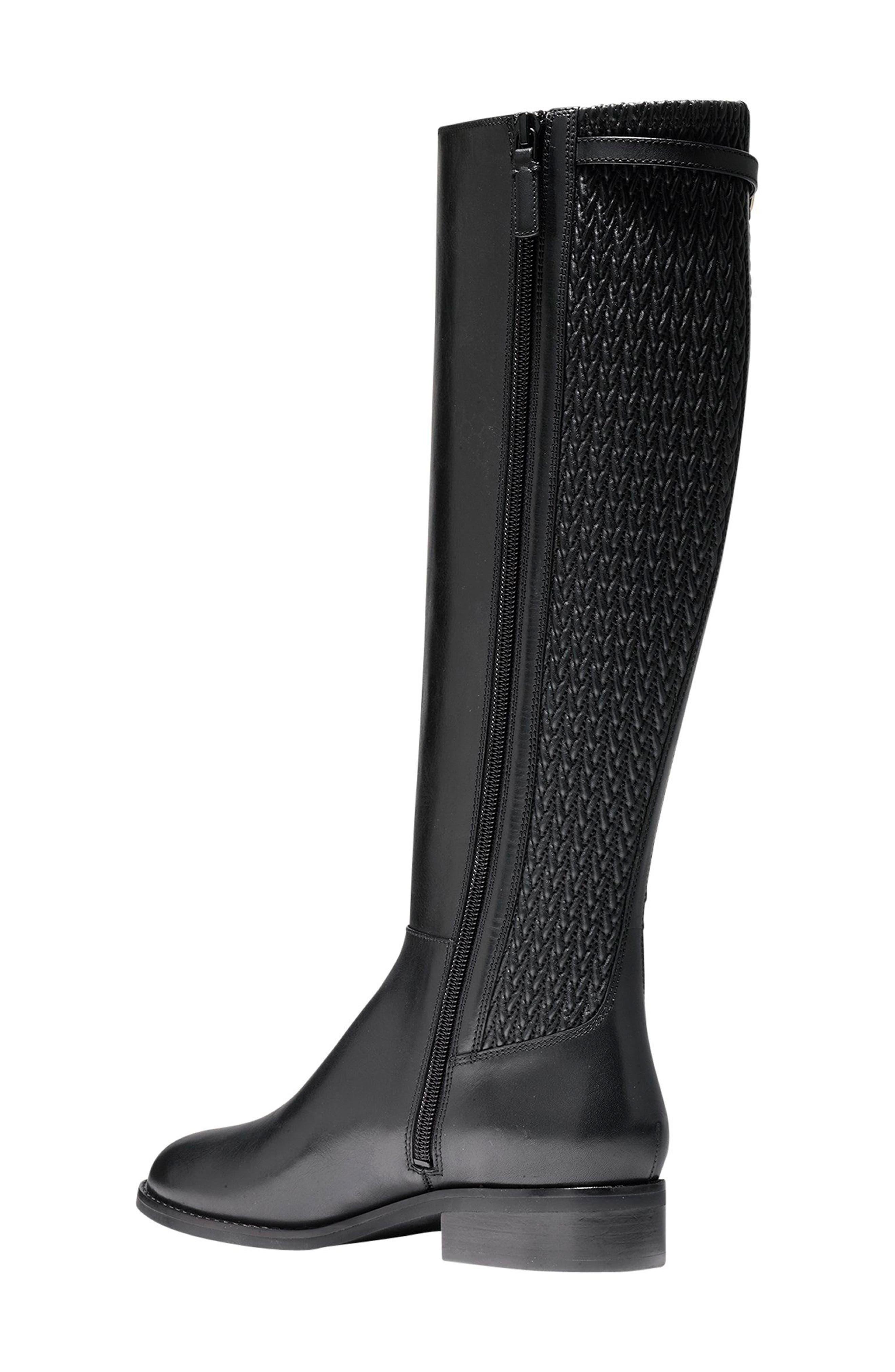 Simona Tall Boot,                             Alternate thumbnail 2, color,                             001