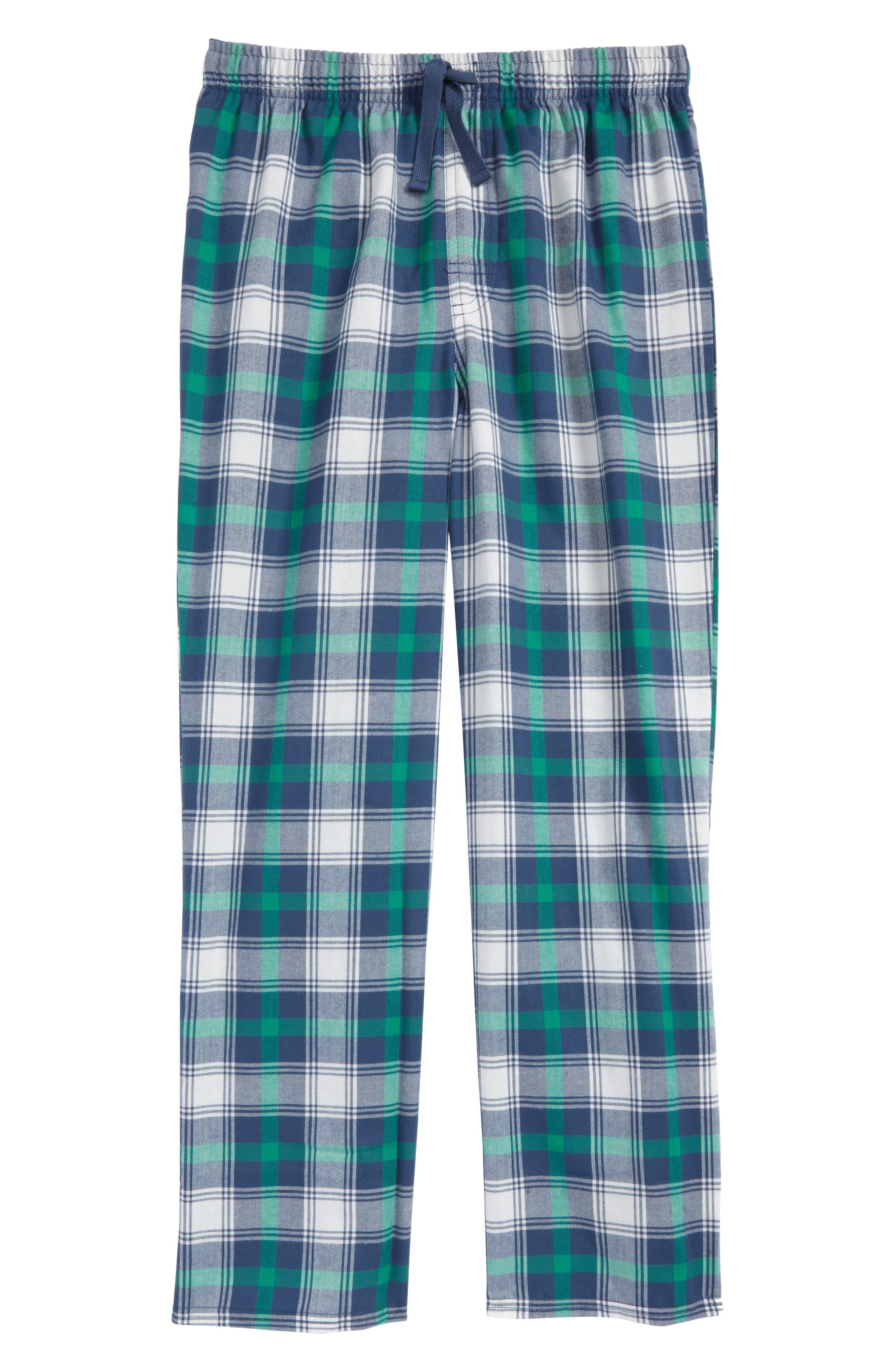Plaid Flannel Pants,                             Main thumbnail 8, color,