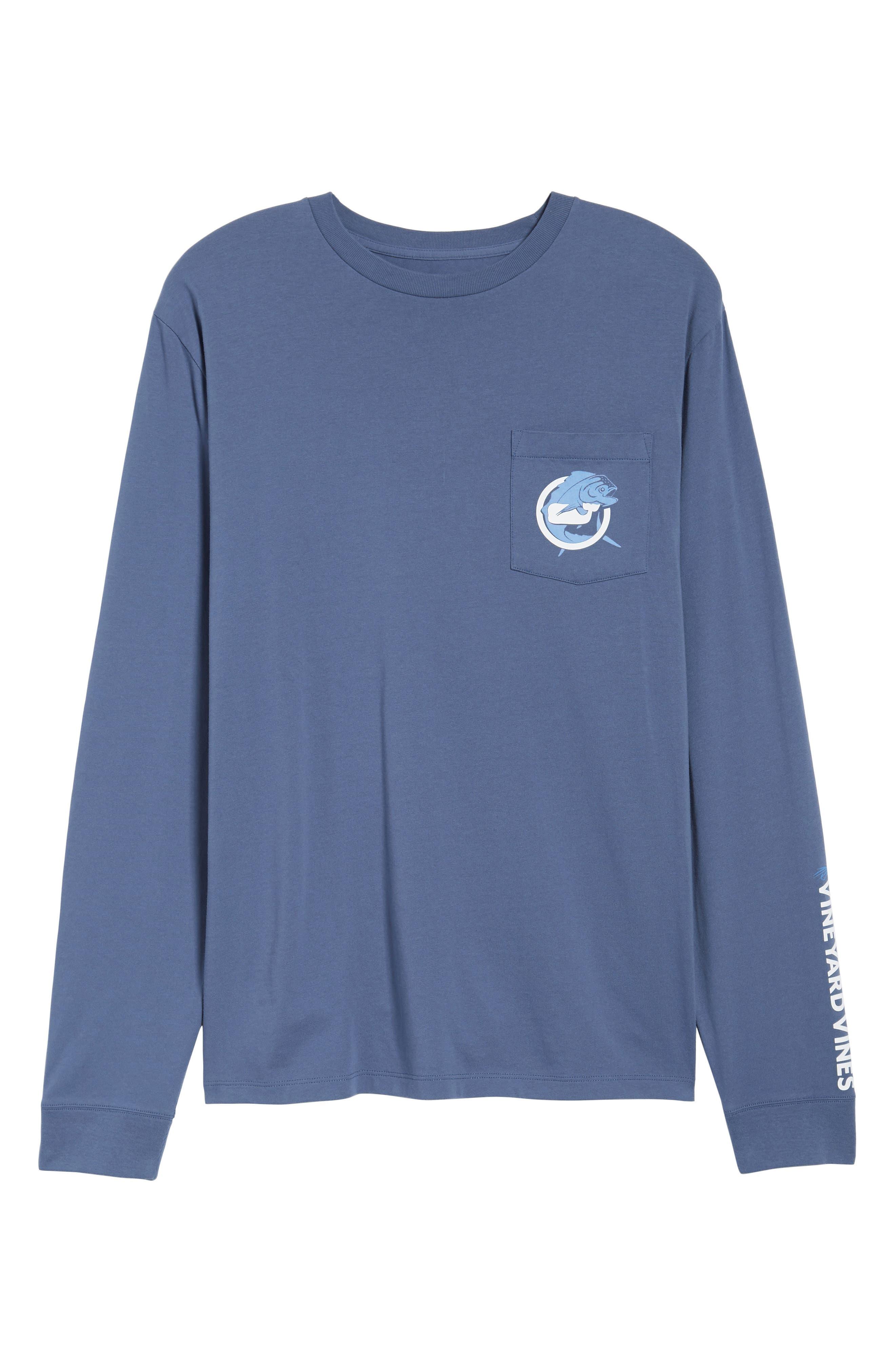 Mahi Long Sleeve T-Shirt,                             Alternate thumbnail 6, color,                             461