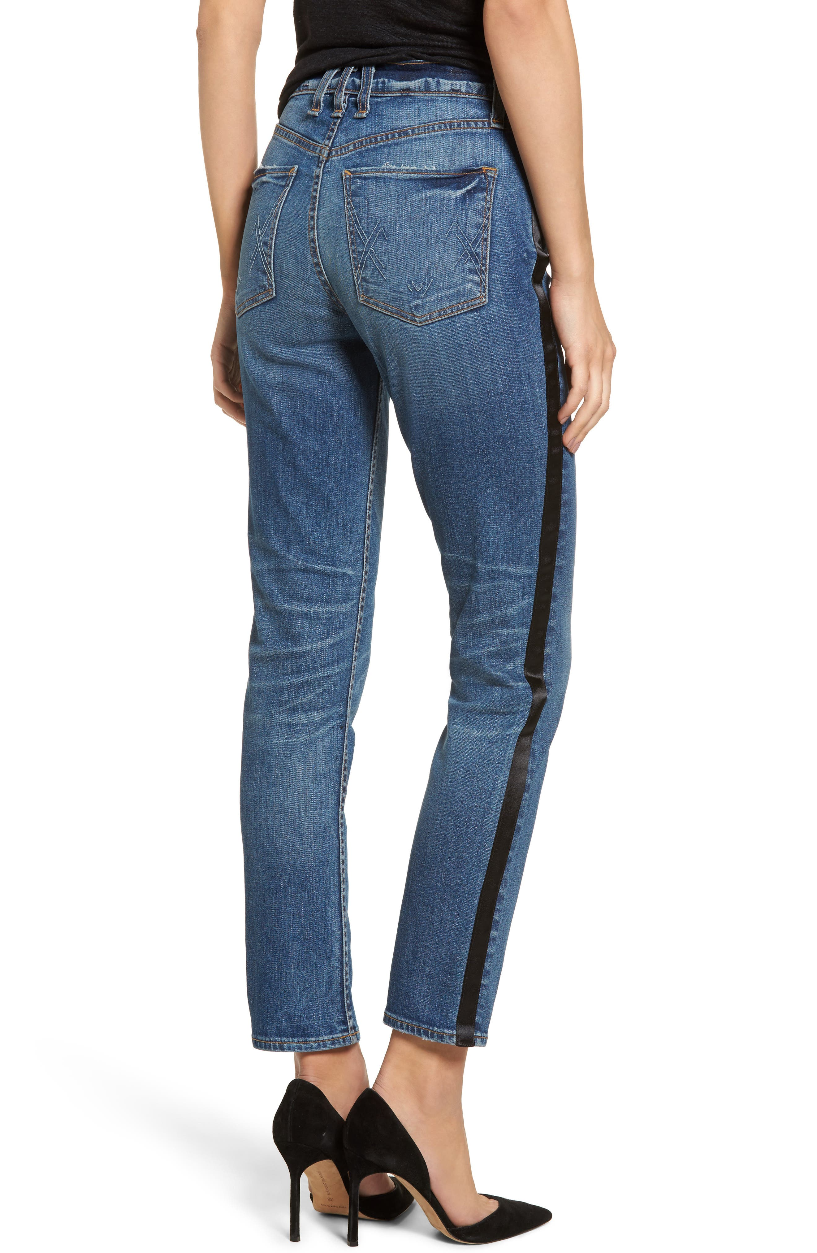 Vintage Slim Ankle Jeans,                             Alternate thumbnail 2, color,