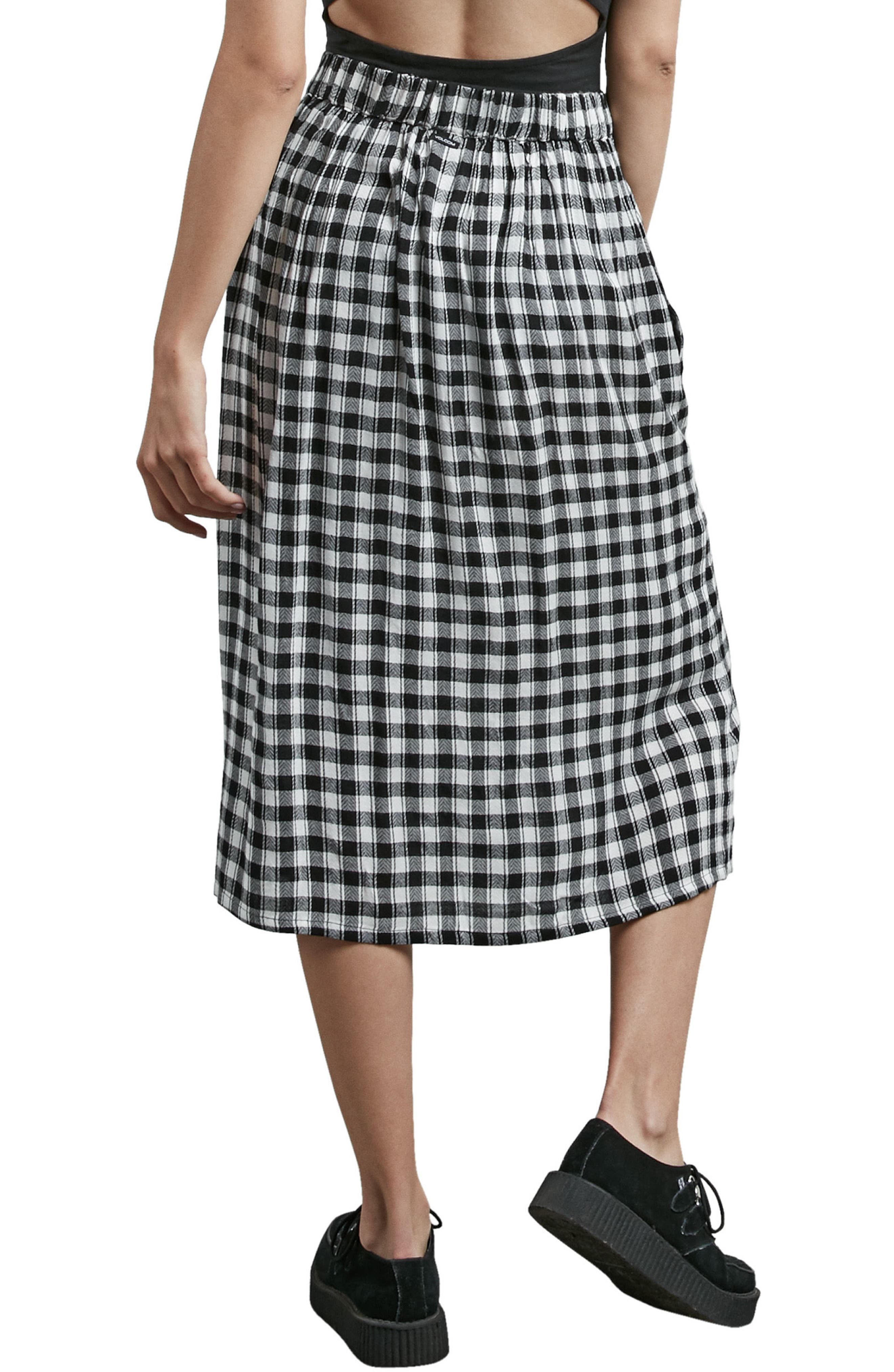 Get To Steppin Midi Skirt,                             Alternate thumbnail 2, color,                             001