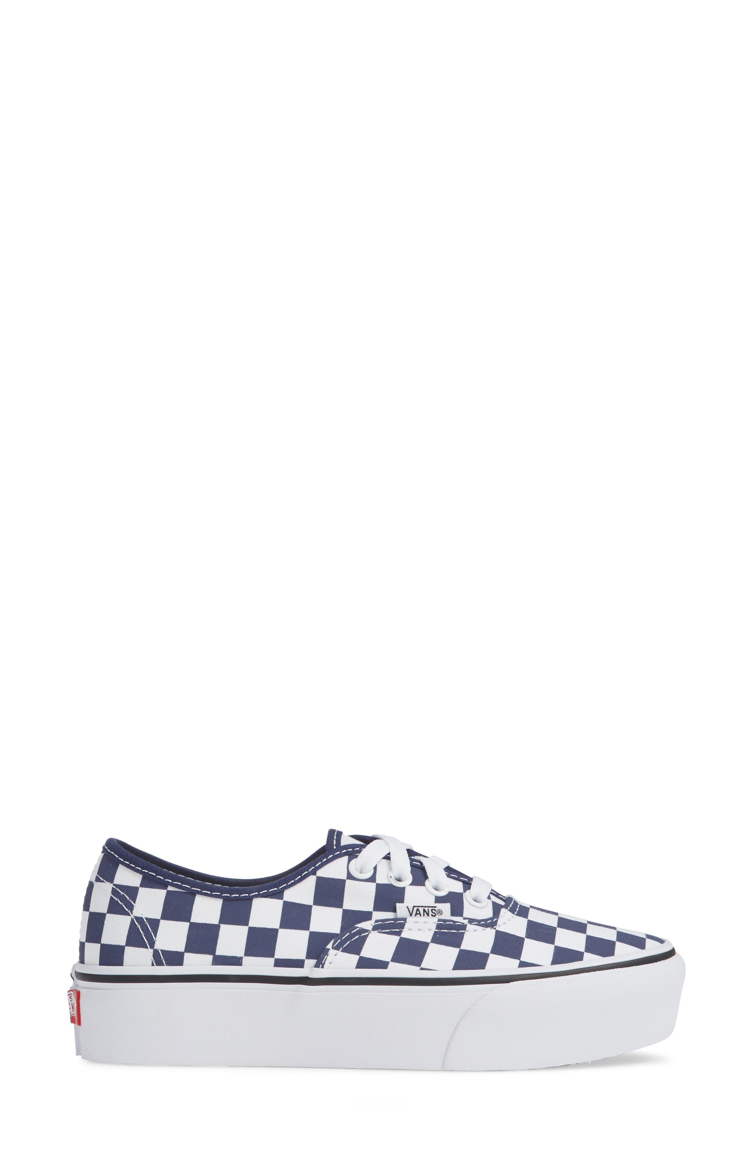 UA Authentic Platform 2.0 Sneaker,                             Alternate thumbnail 3, color,                             440