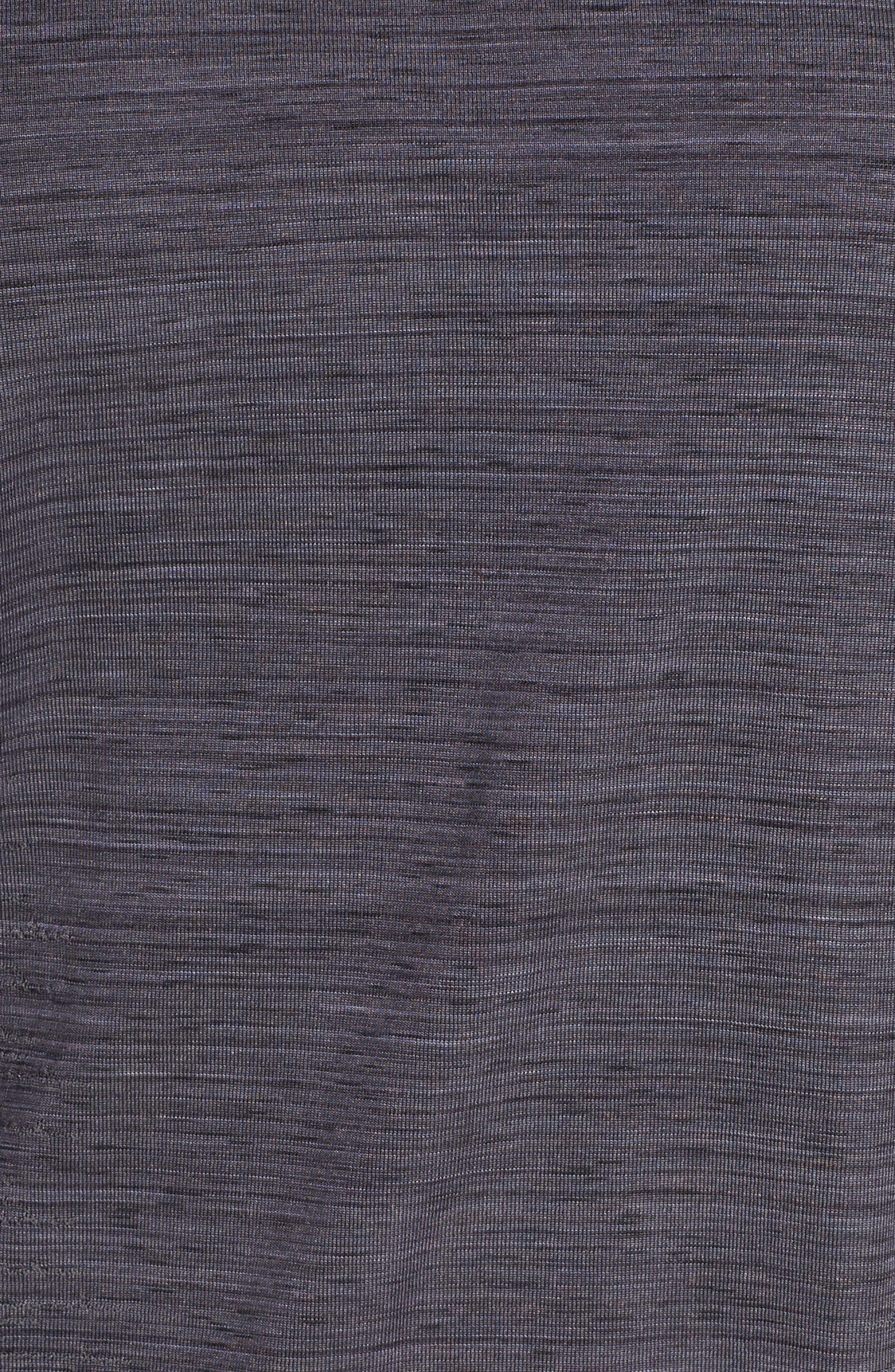 Vanish Space Dye Tee,                             Alternate thumbnail 6, color,                             BLACK/ CHARCOAL/ SILVER