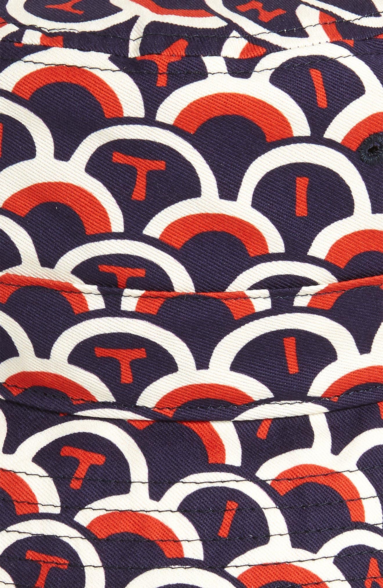 Logo Bucket Hat,                             Alternate thumbnail 2, color,                             MARINE/ RED/ WHITE