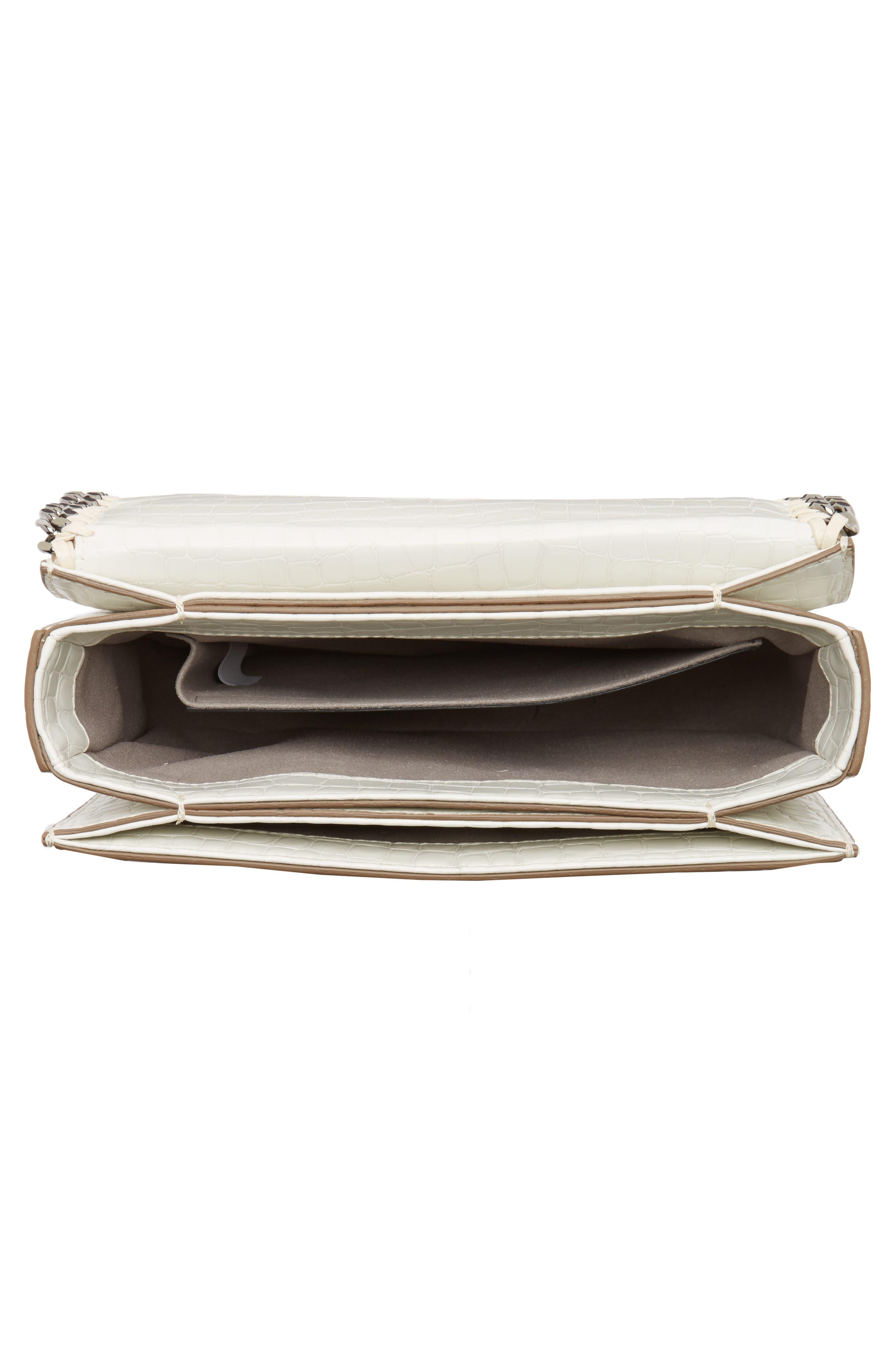 Falabella Box Faux Leather Shoulder Bag,                             Alternate thumbnail 8, color,