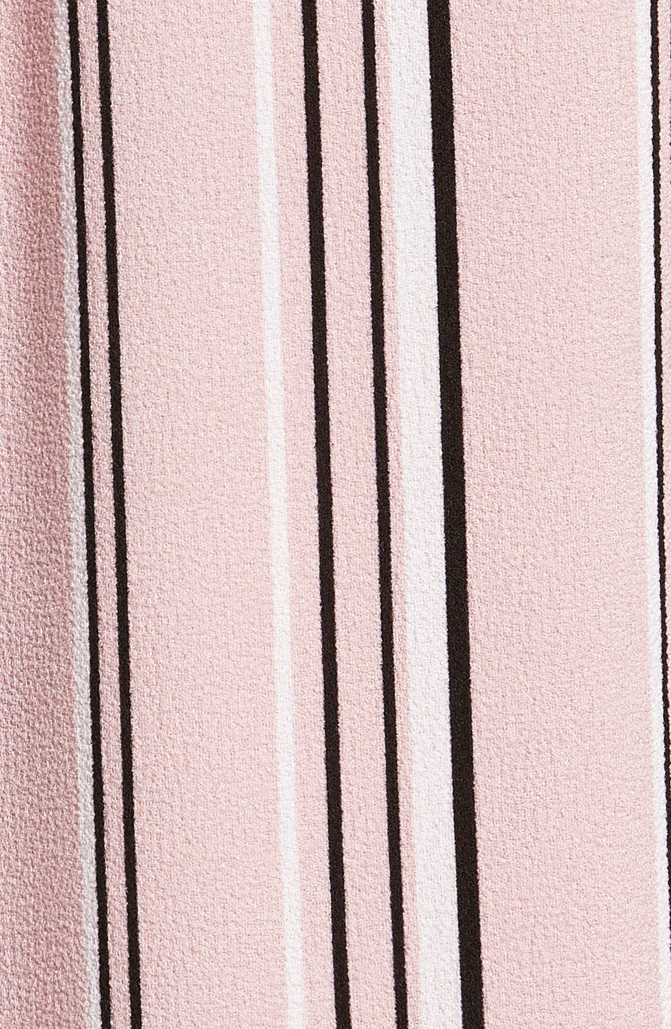 Hailey Crepe Shift Dress,                             Alternate thumbnail 5, color,                             651