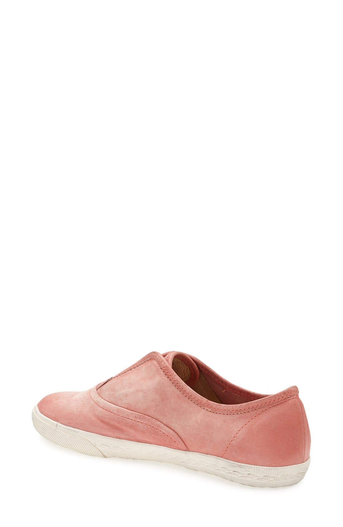 'Mindy' Slip-On Leather Sneaker,                             Alternate thumbnail 44, color,