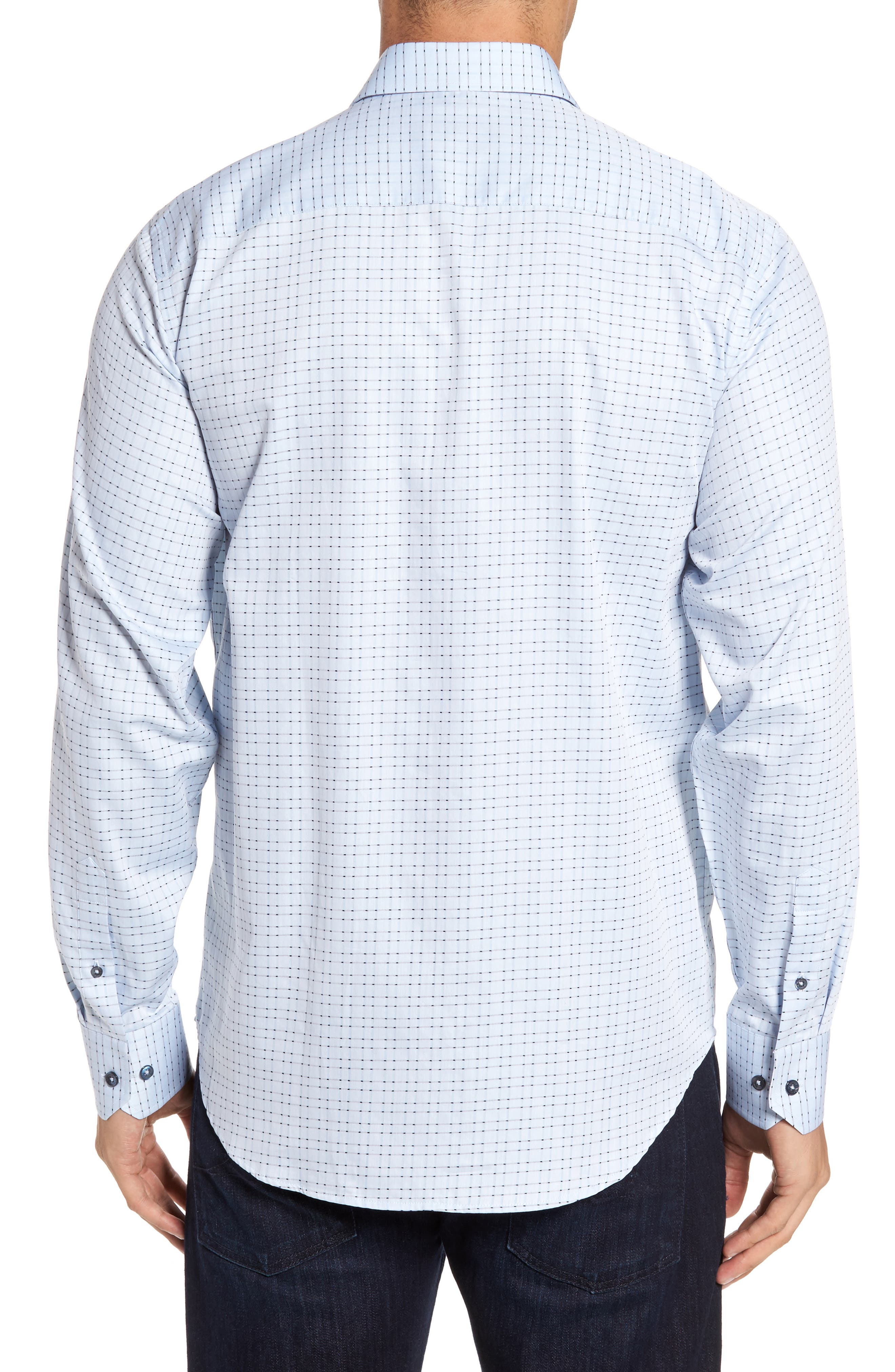 Classic Fit Check Sport Shirt,                             Alternate thumbnail 2, color,                             459