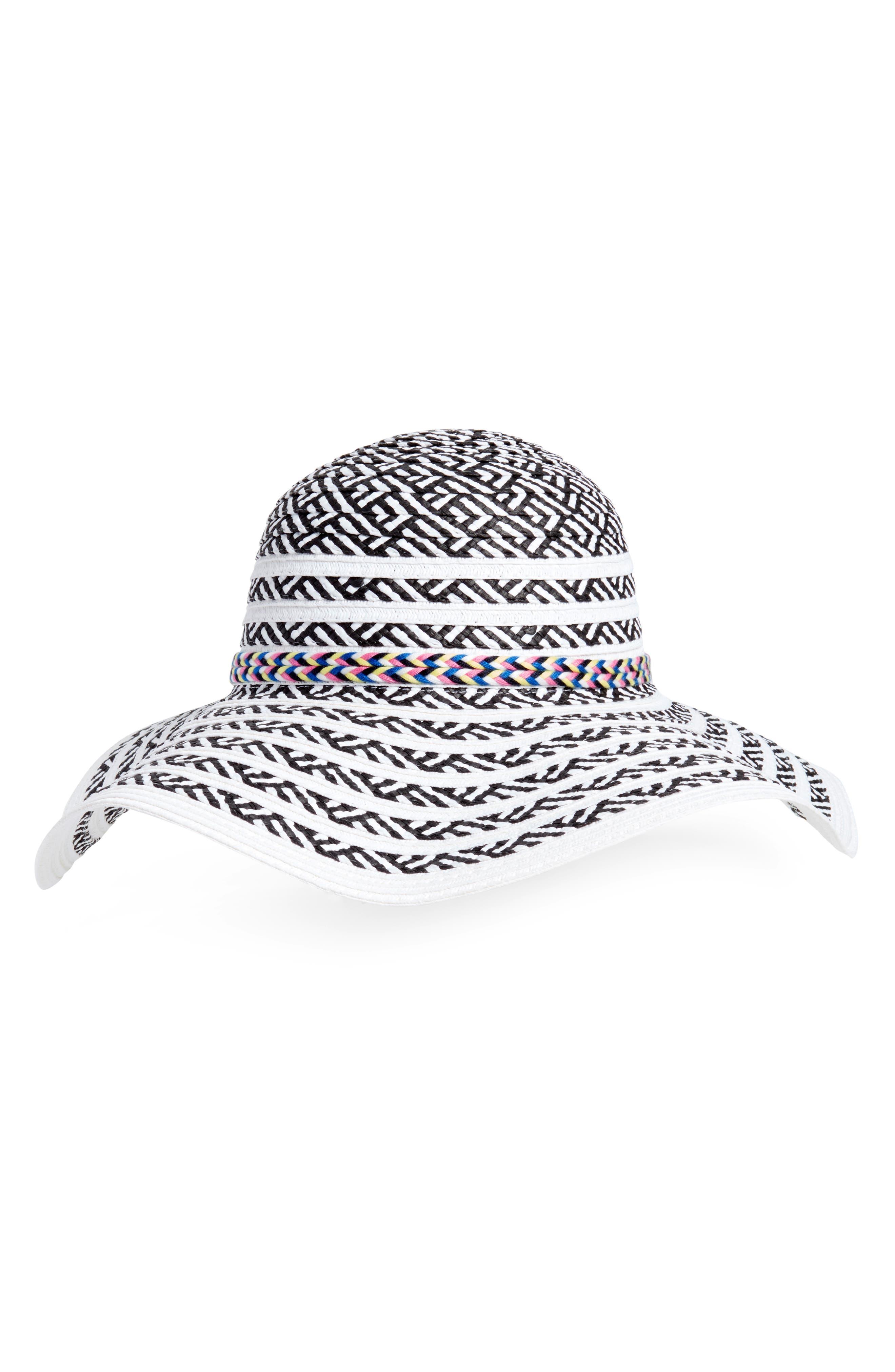 Beach Party Floppy Hat,                             Main thumbnail 2, color,