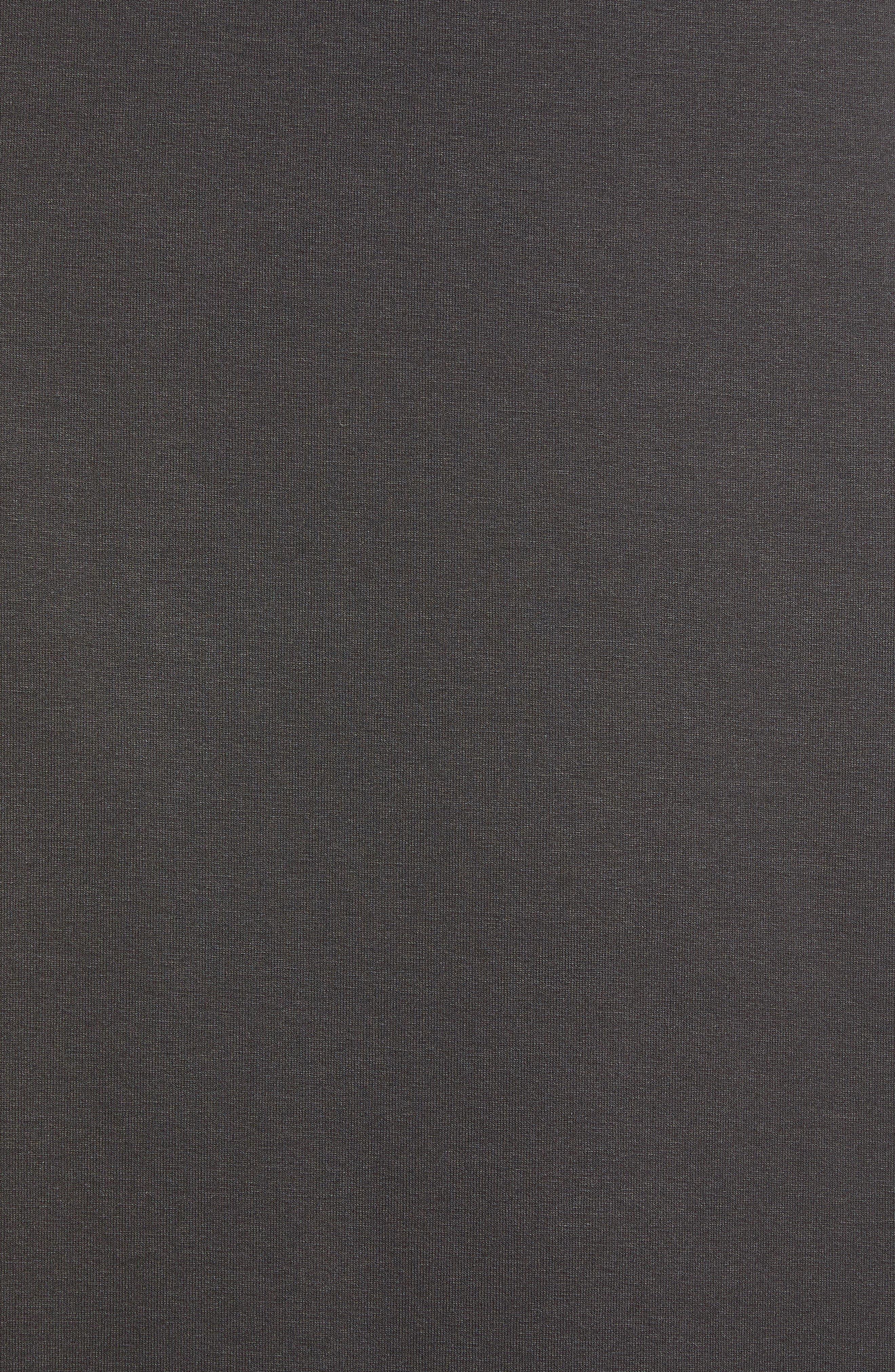Jersey Shirttail Hem Skirt,                             Alternate thumbnail 5, color,                             025