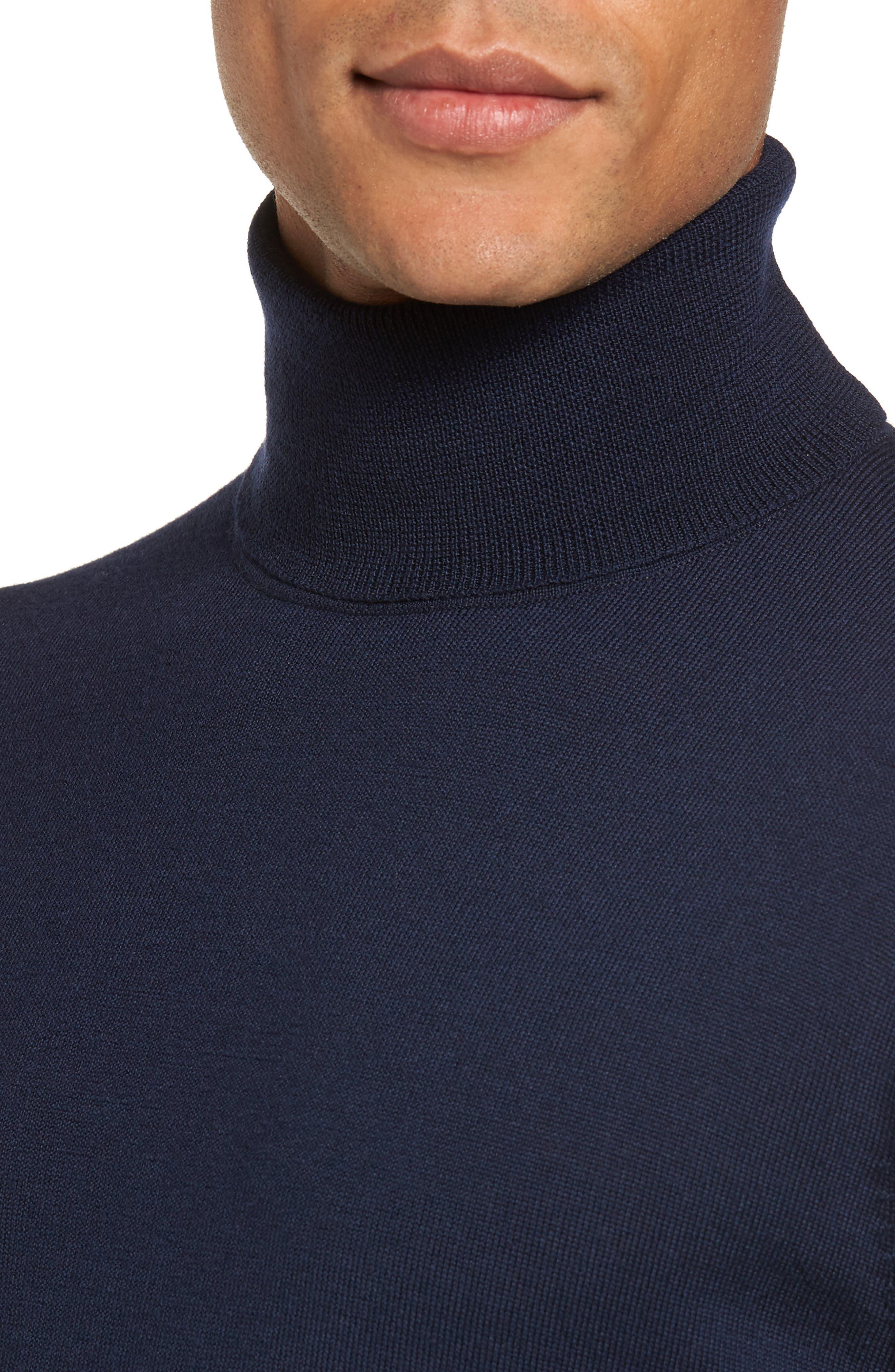 Merino Wool Turtleneck Sweater,                             Alternate thumbnail 23, color,