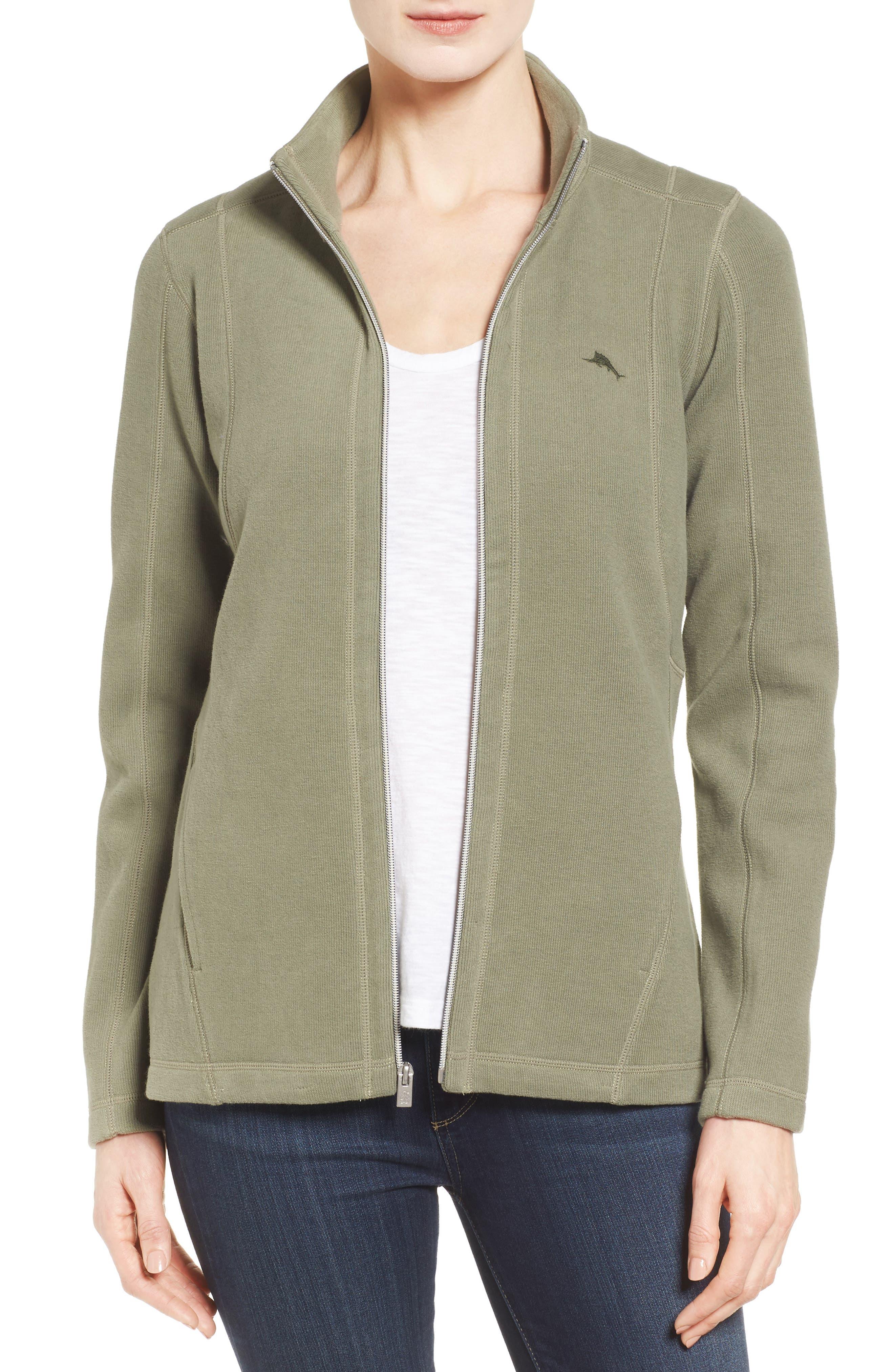 'Aruba' Full Zip Sweatshirt,                             Main thumbnail 3, color,