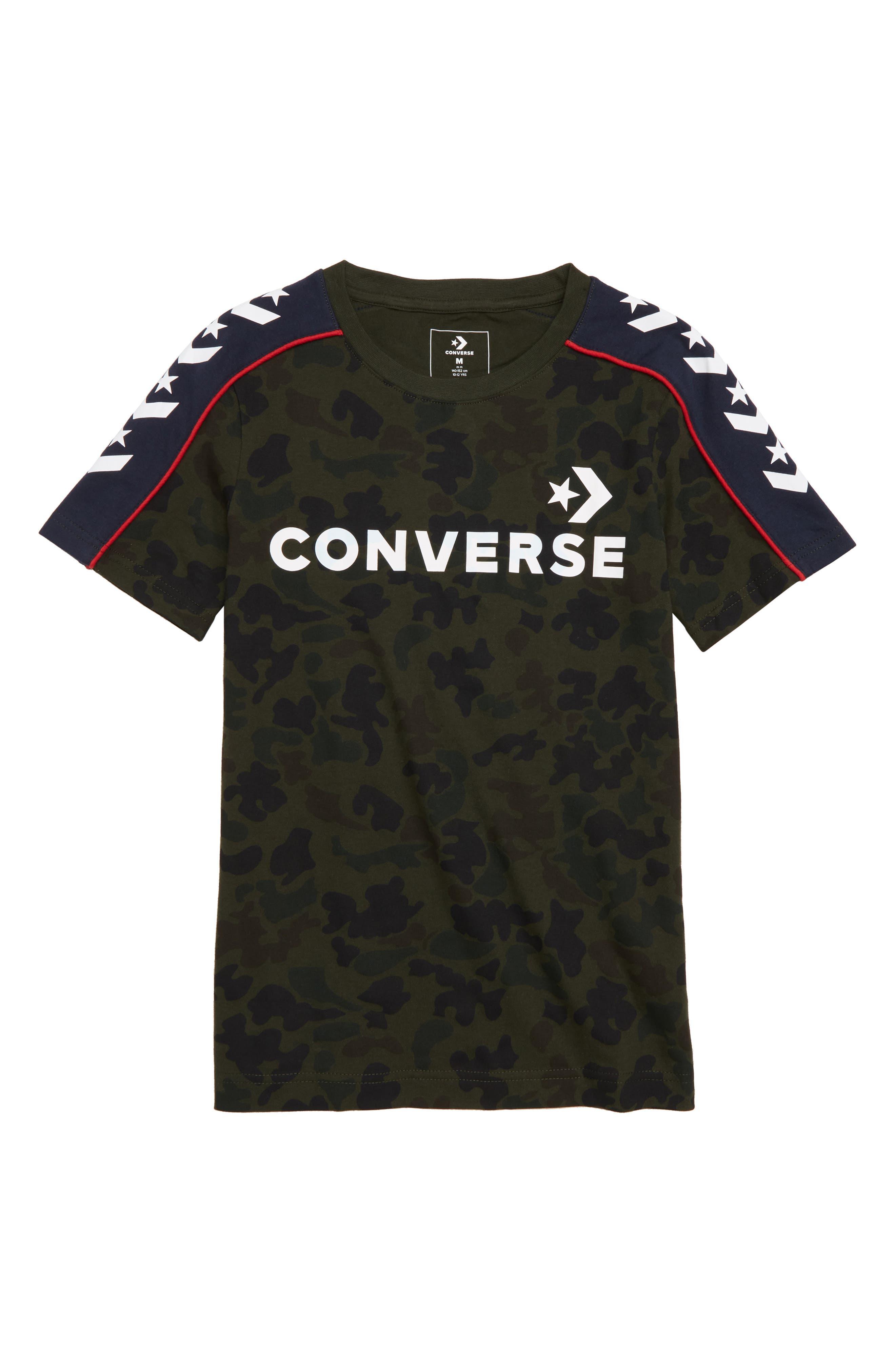 Camo Track T-Shirt,                         Main,                         color, 311