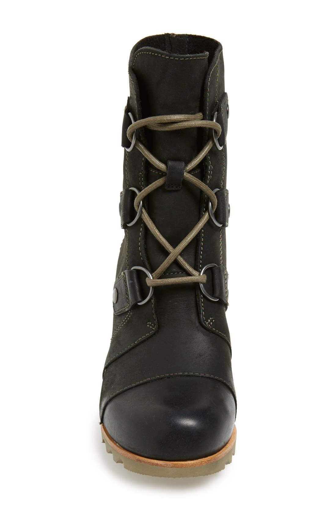 'Joan of Arctic' Waterproof Wedge Boot,                             Alternate thumbnail 11, color,