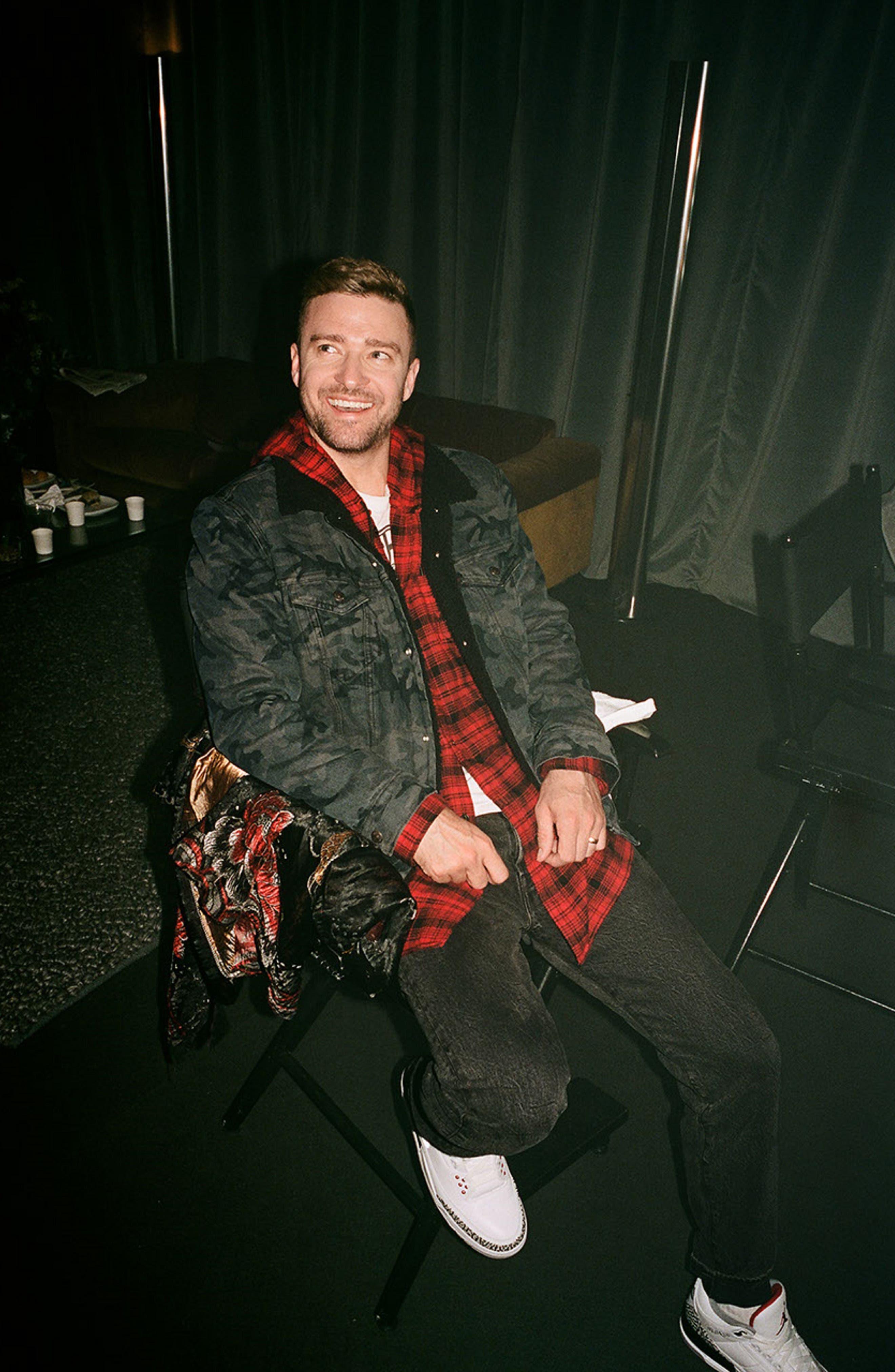 x Justin Timberlake 501<sup>®</sup> Slim Taper Jeans,                             Alternate thumbnail 2, color,                             WASHED BLACK